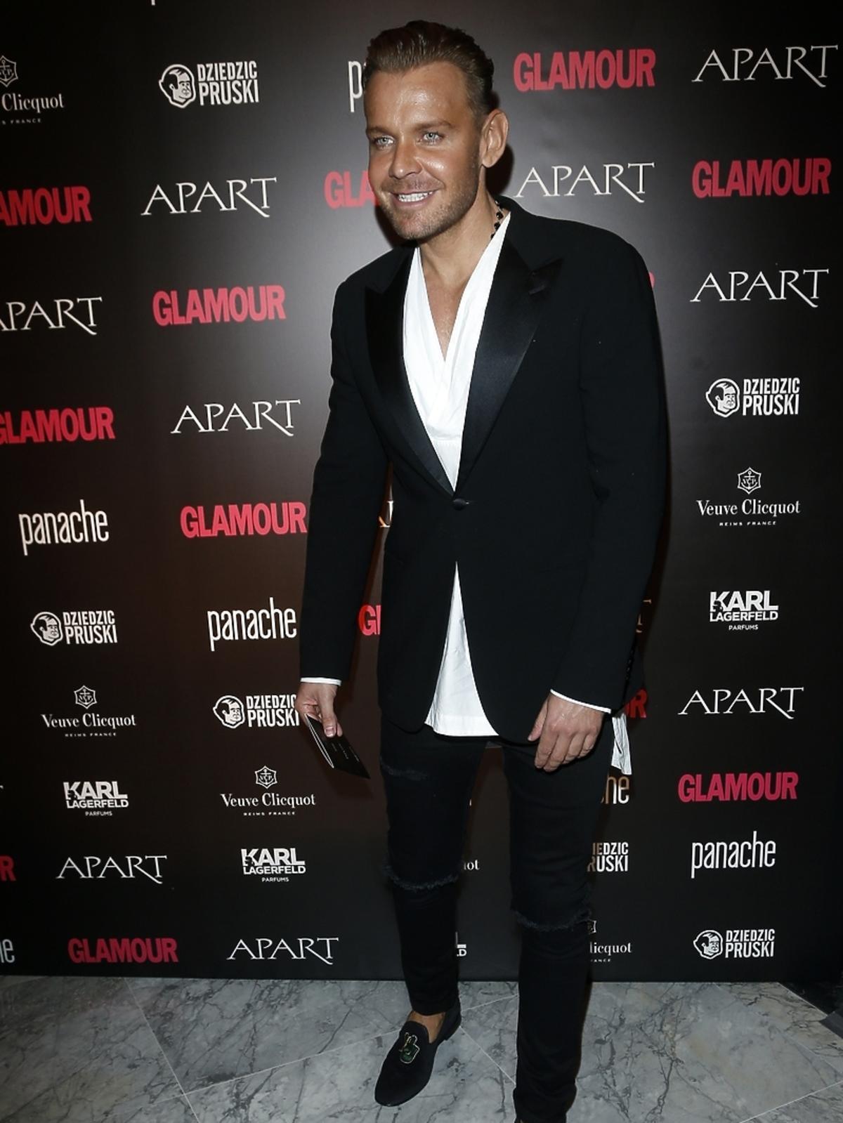 Dawid Woliński na Kobieta Roku Glamour 2014