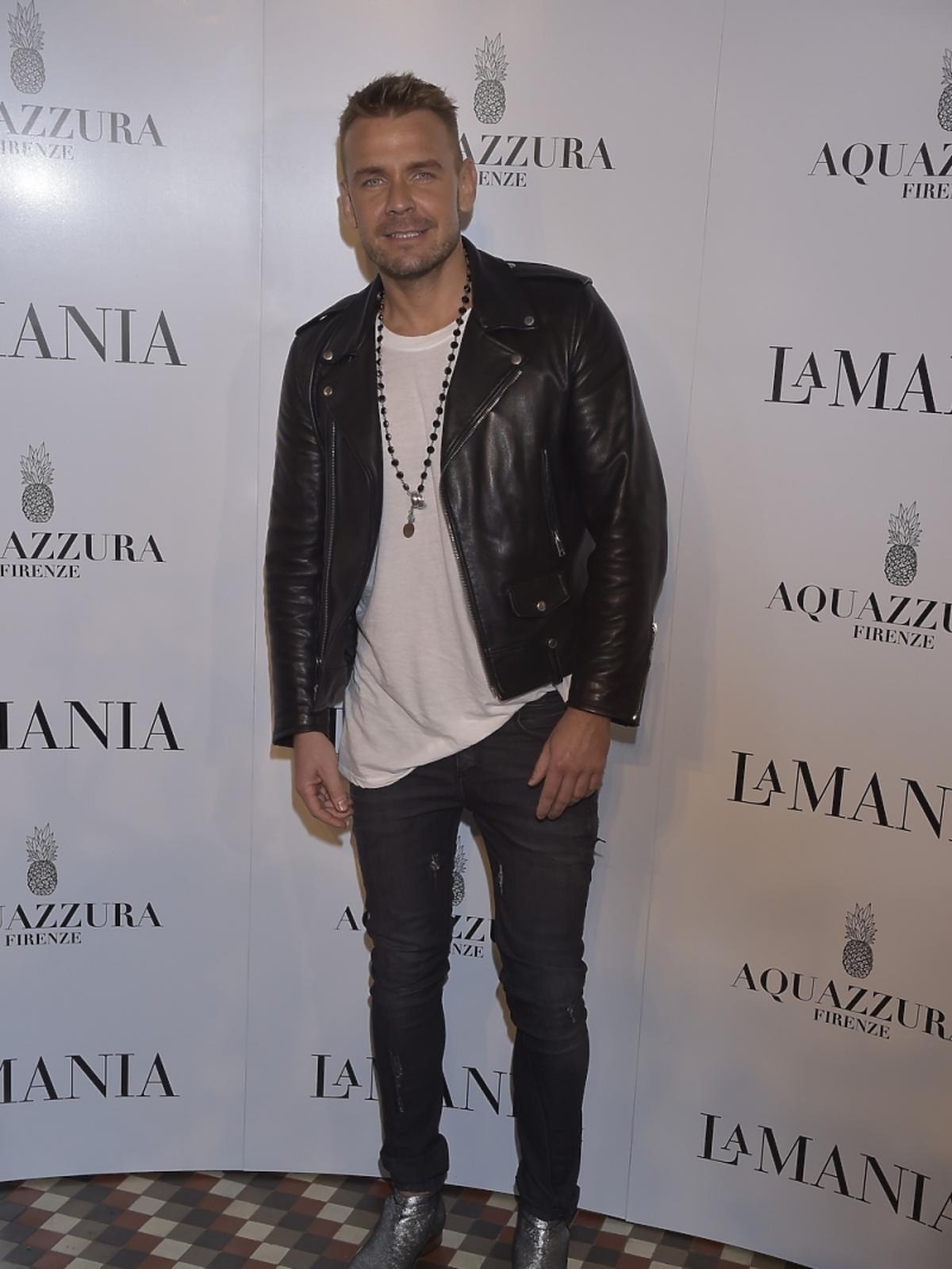 Dawid Woliński na prezentacji La Mania