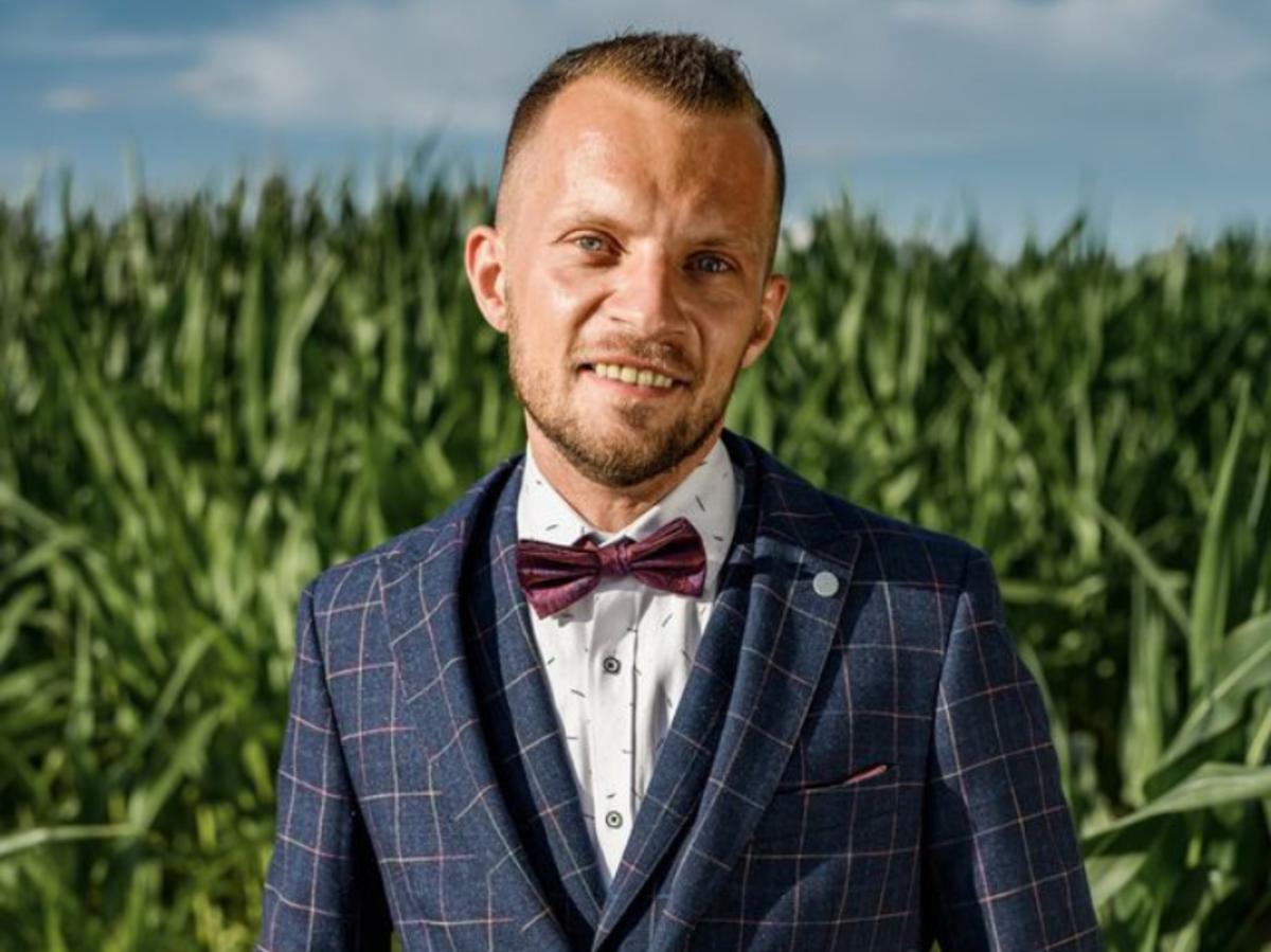 Dawid z 7. edycji Rolnik szuka żony