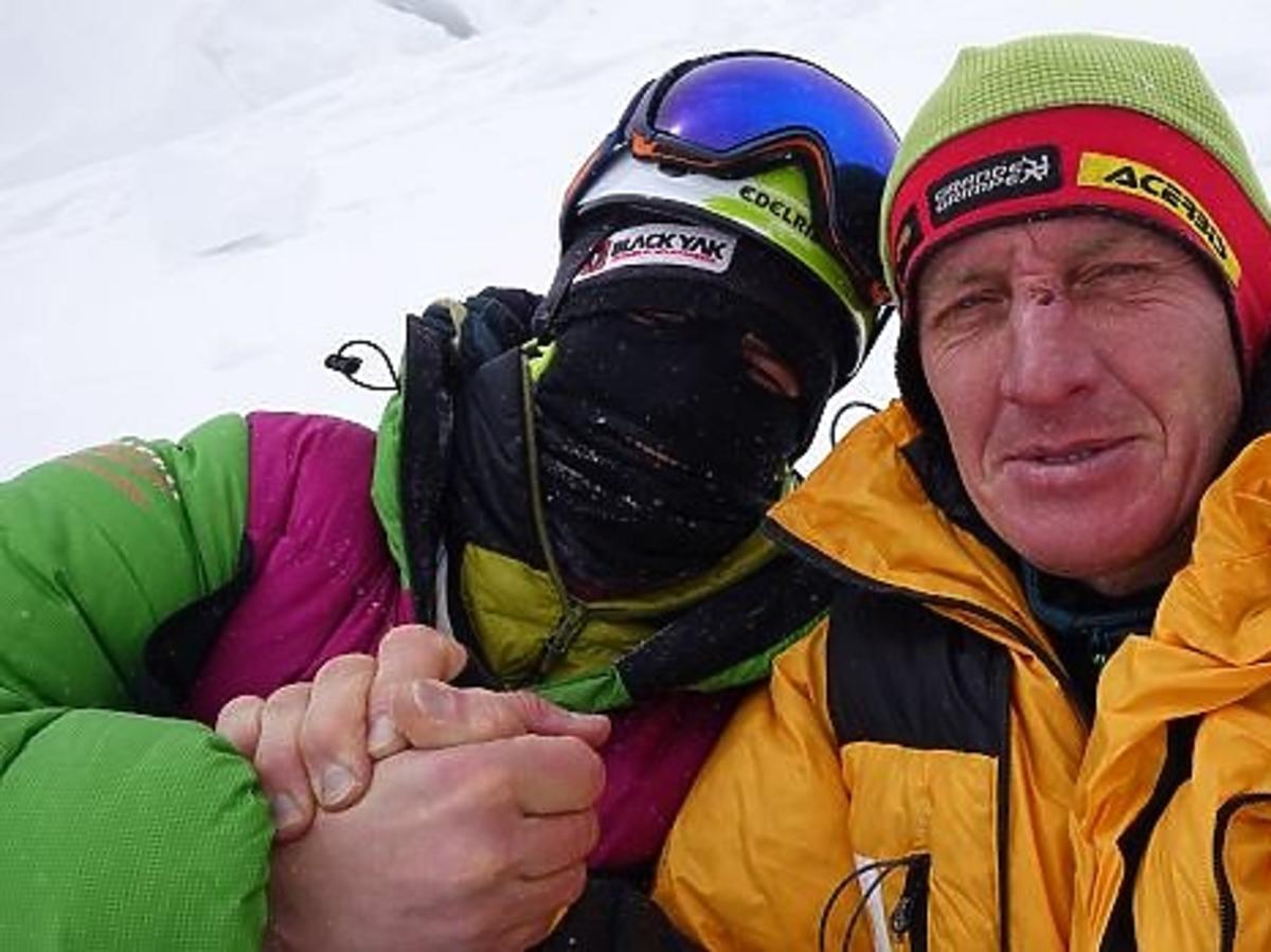 Denis Urubko i Adam Bielecki na K2
