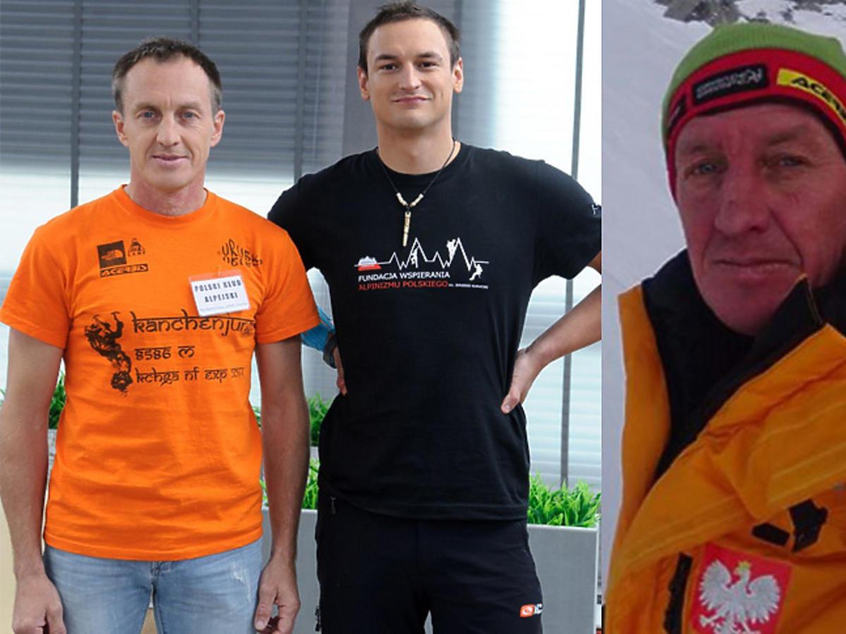 Denis Urubko i Adam Bielecki w DDTVN