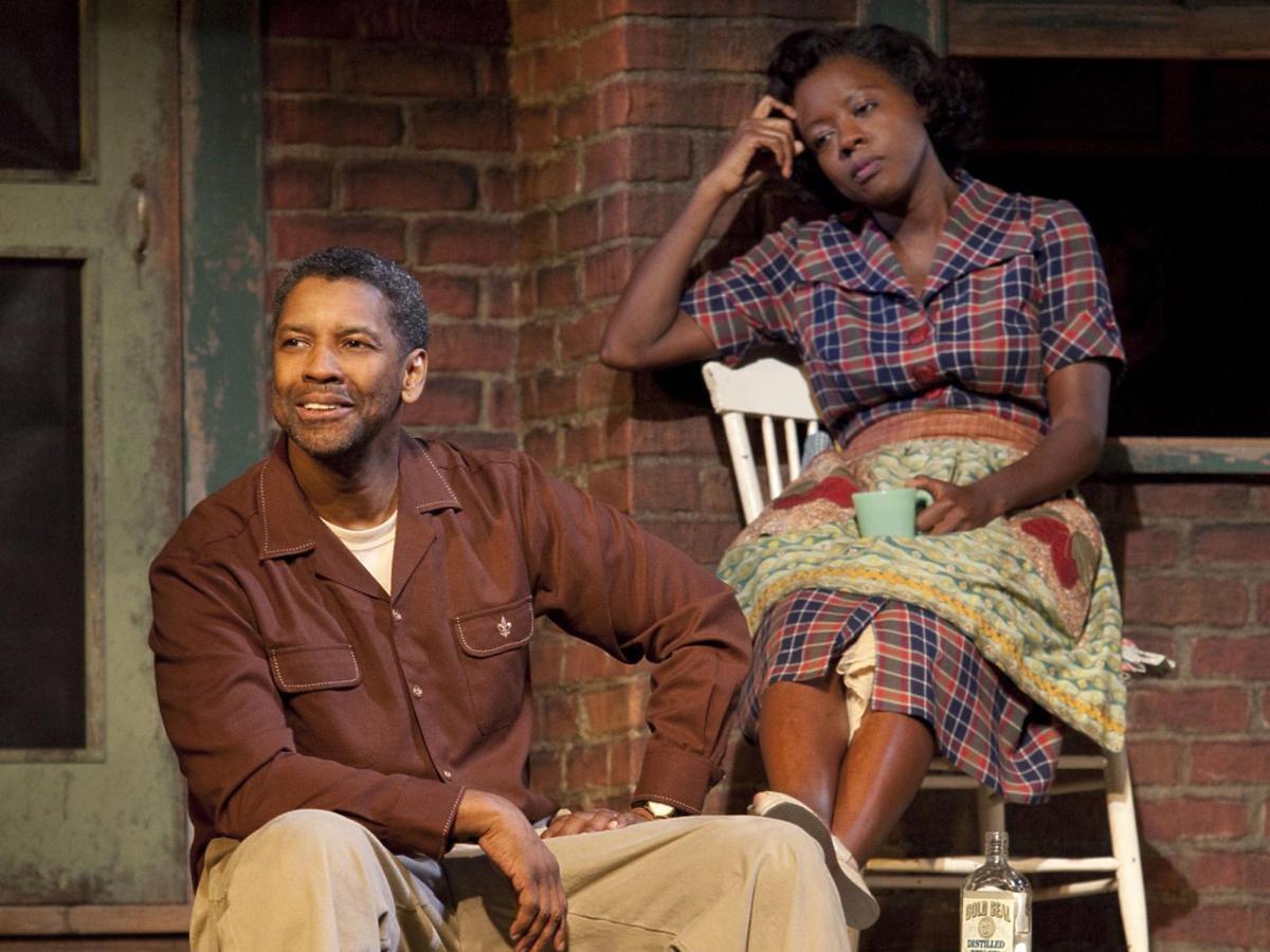 Denzel Washington i Viola Davis w filmie Fences