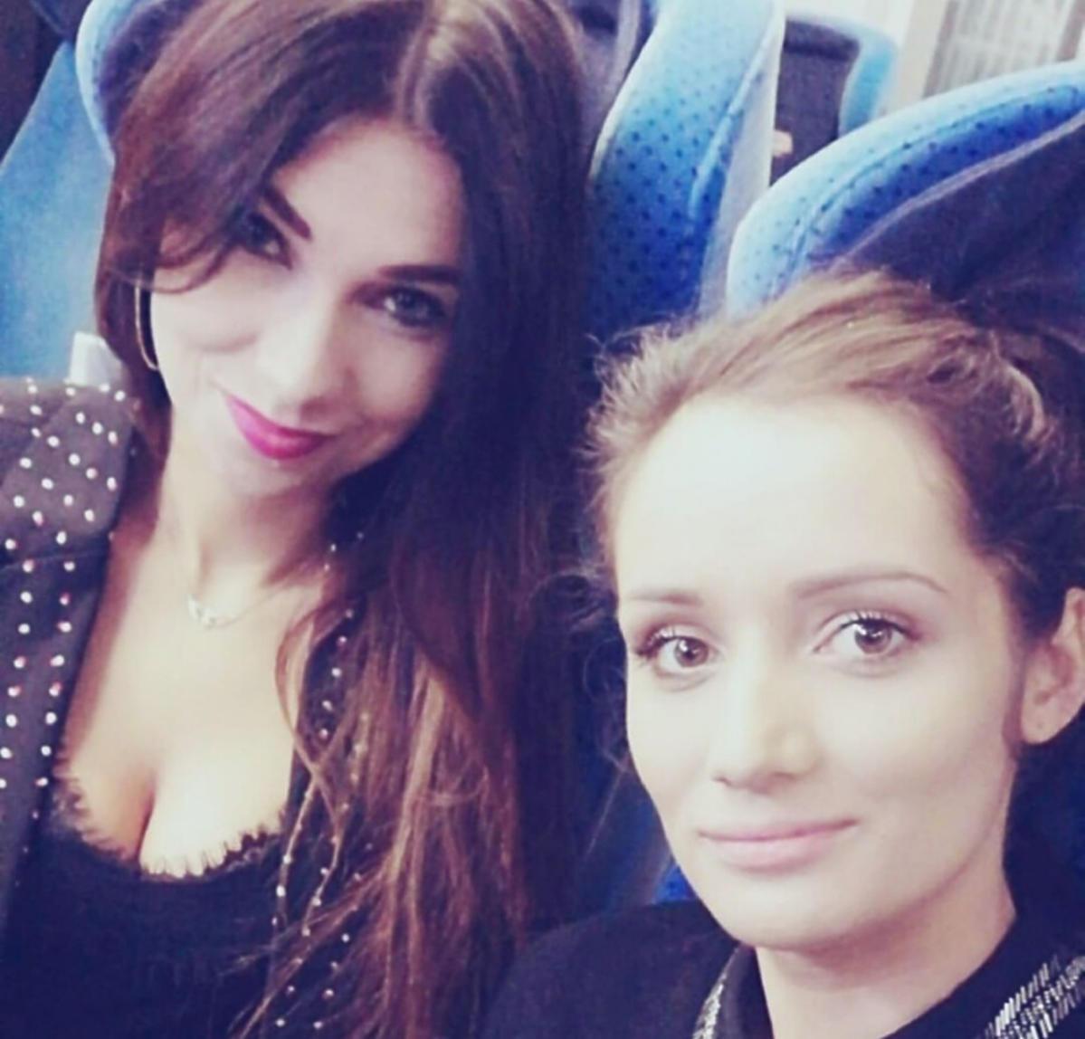 Diana i Natalia z