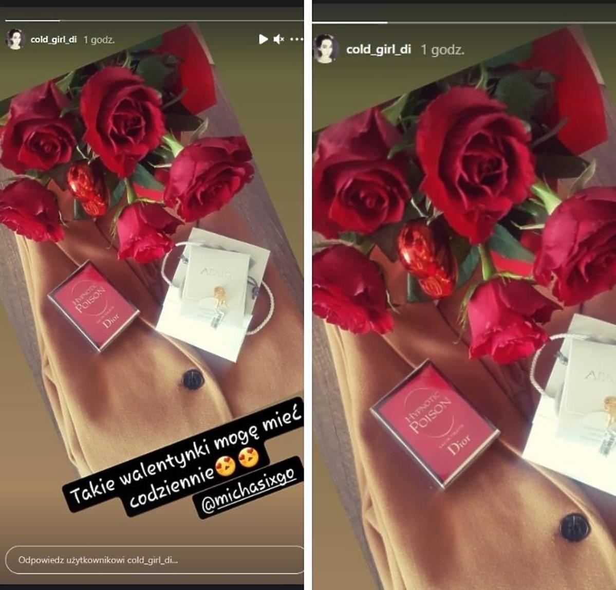 Diana Rolnik szuka żony pokazała prezent na Walentynki