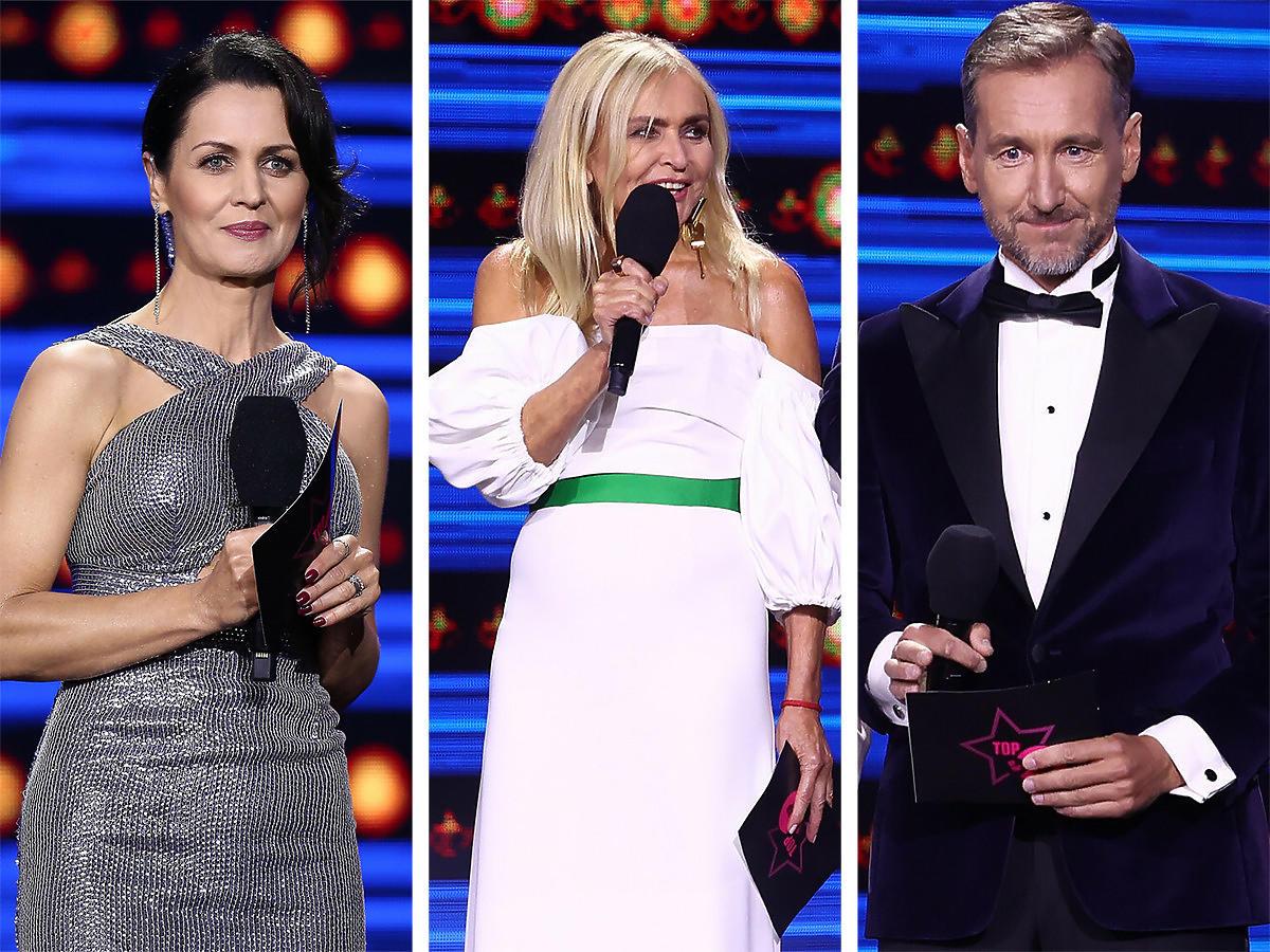 Diana Rudnik, Monika Olejnik i Piotr Kraśko na Top of The Top Festivalu 2021