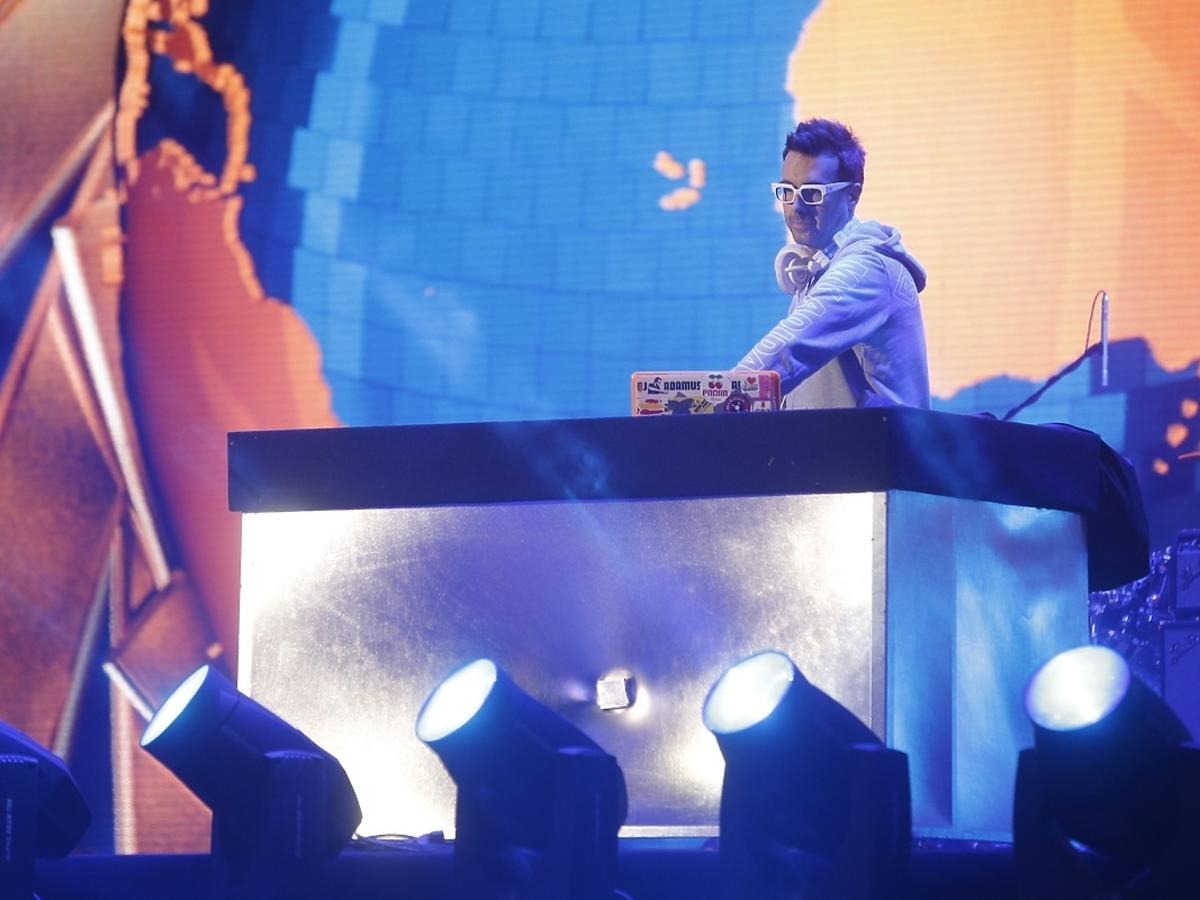 DJ Adamus Sylwester 2014/2015 z Polsatem w Gdyni