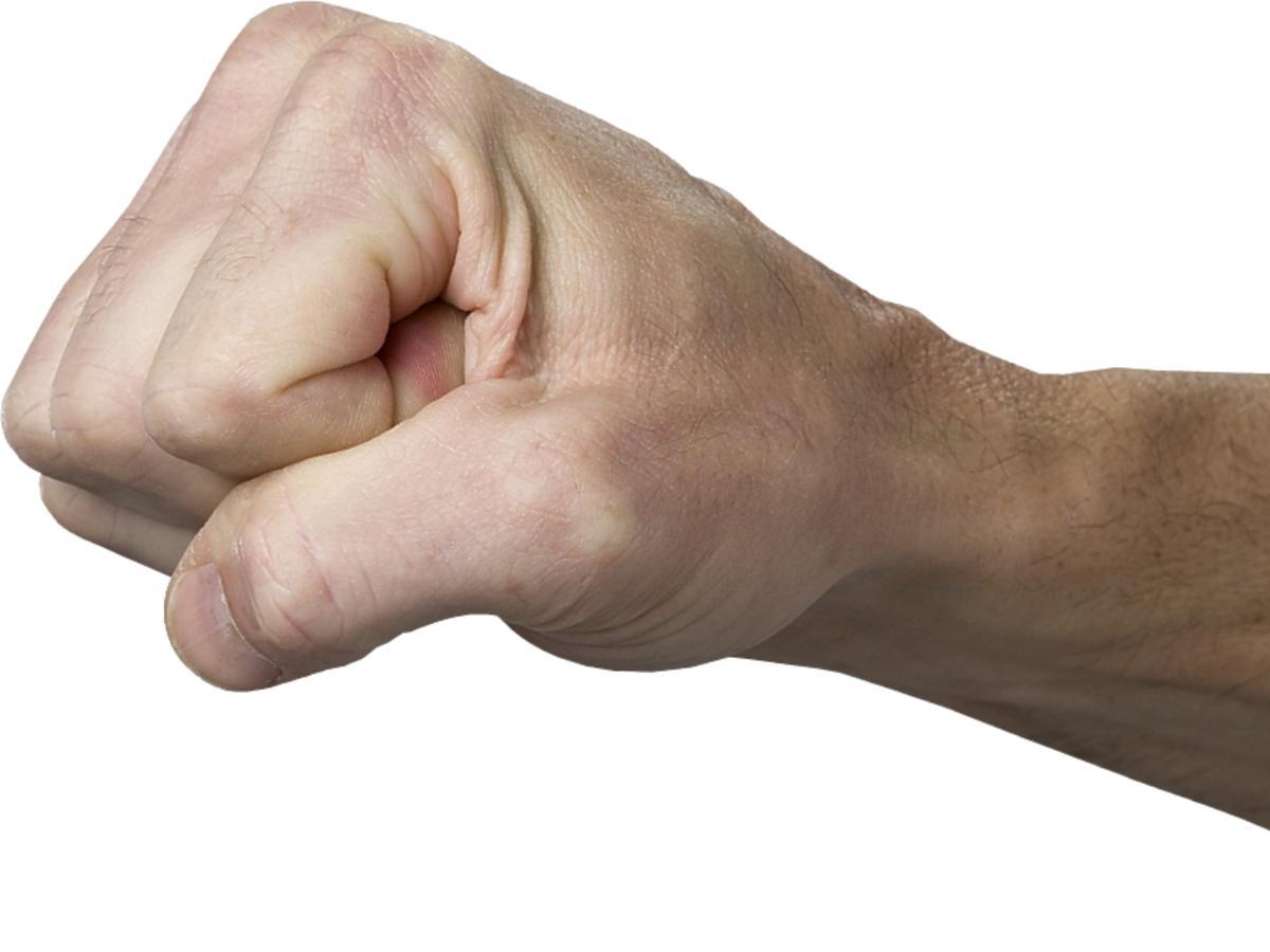 Dłoń zaciśnięta