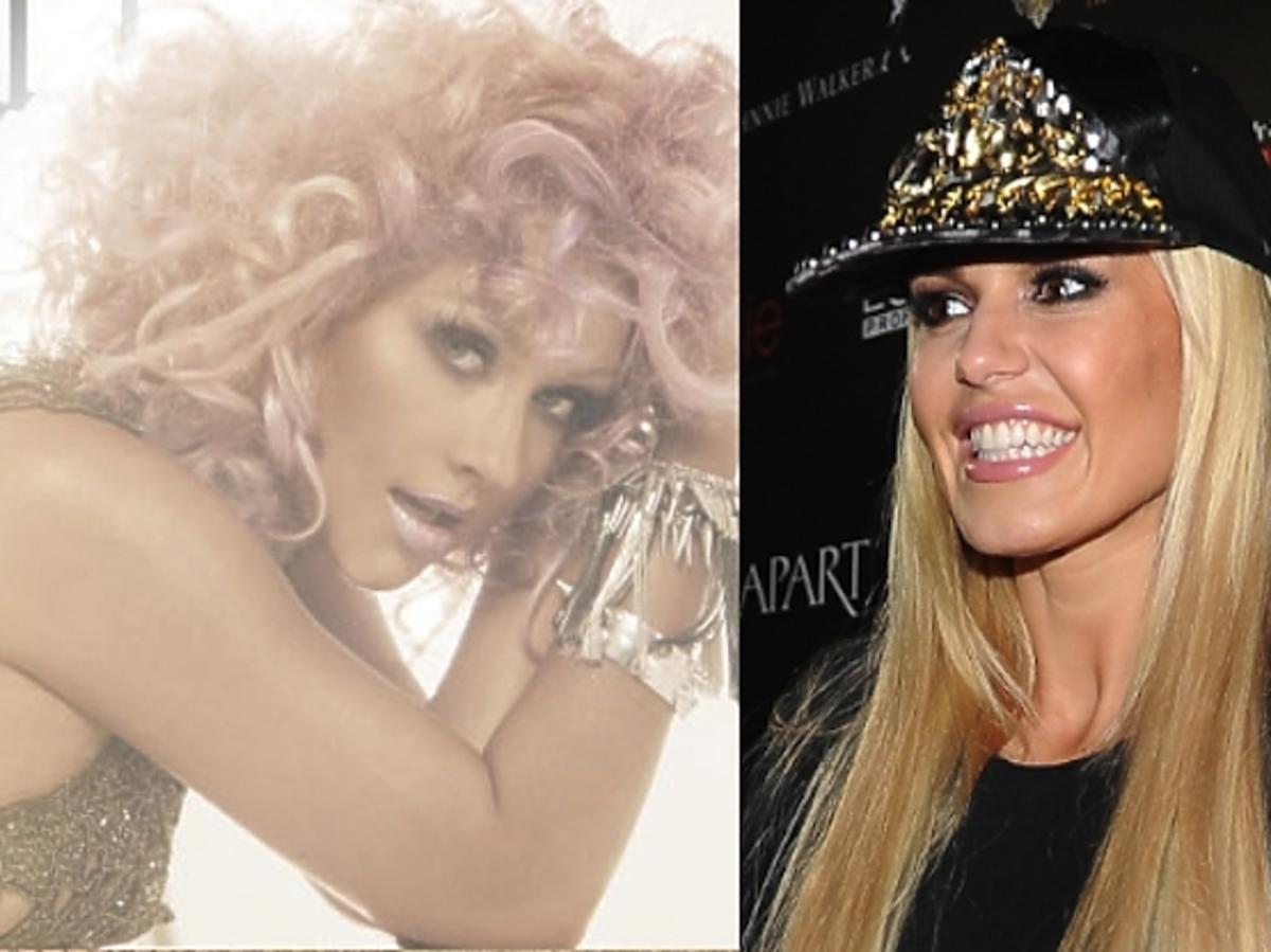 Doda i Christina Aguilera w takich samych butach Giuseppe Zanotti