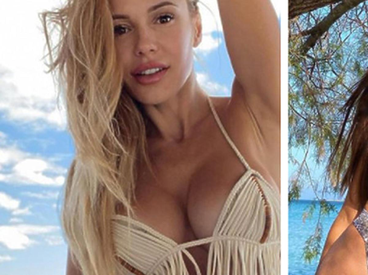 Doda i Honorata Skarbek na zdjęciach w bikini