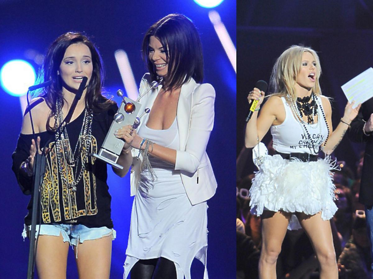 Doda, Marina i Edyta Górniak na Eska Music Awards 2010