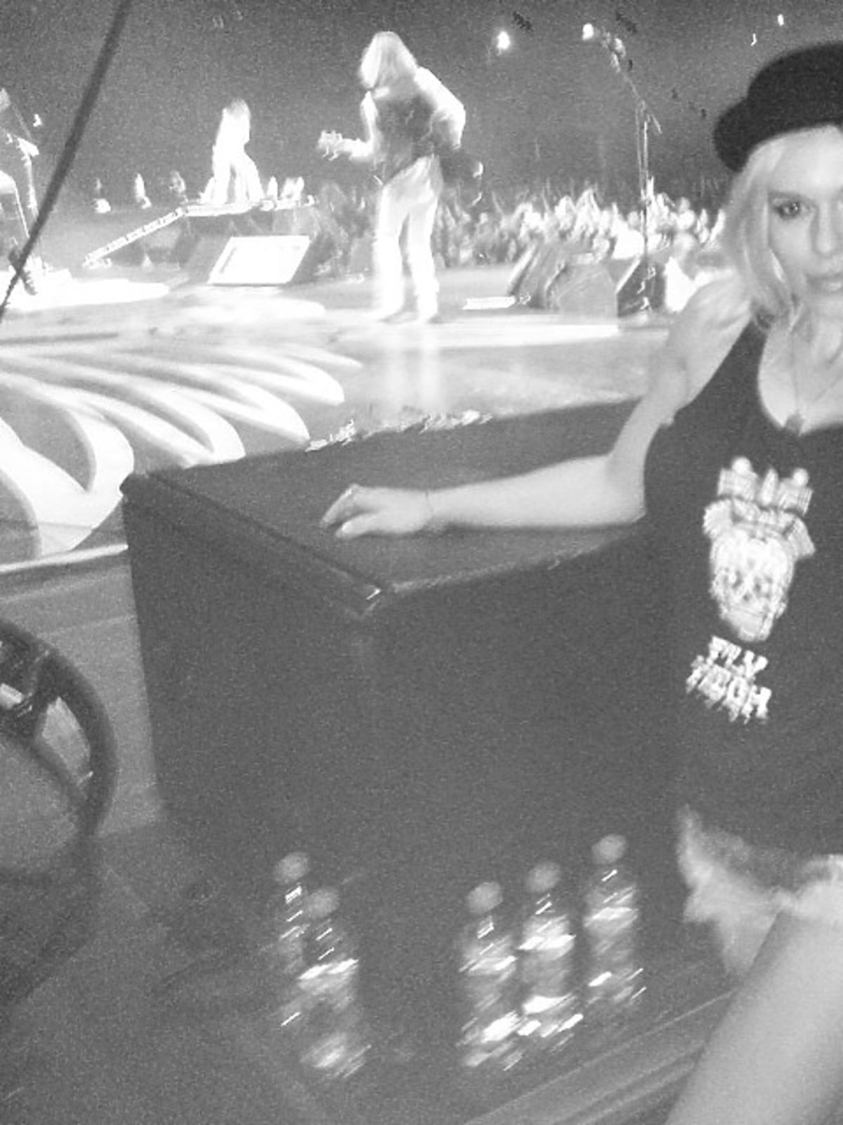 Doda na koncercie Aerosmith