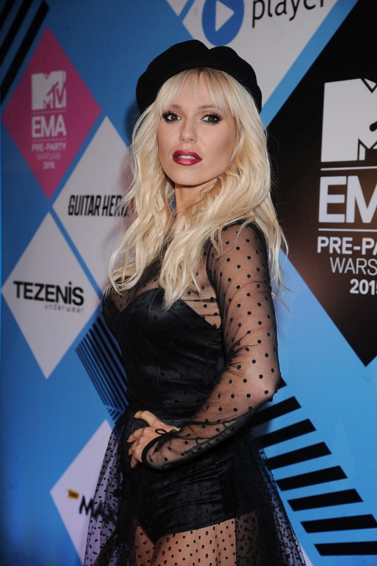 Doda na MTV EMA PRE-PARTY w berecie