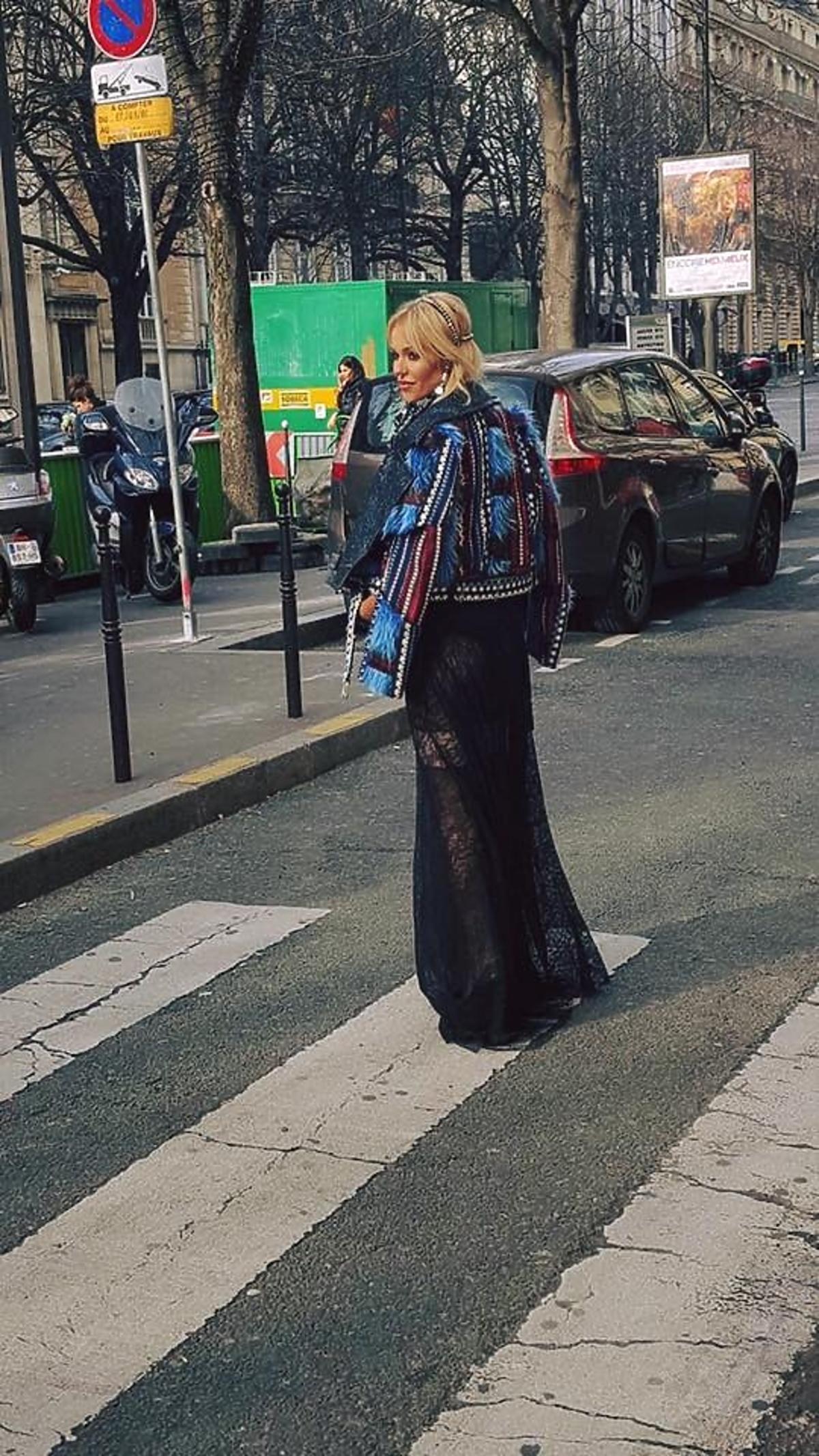 Doda na paryskim Fashion Weeku