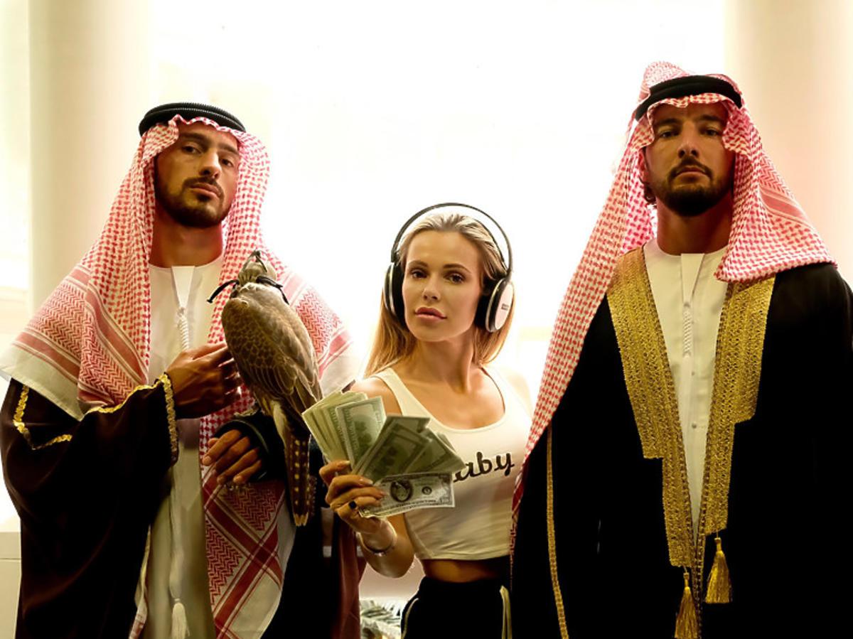 """Doda na planie filmu """"Dziewczyny z Dubaju"""""""