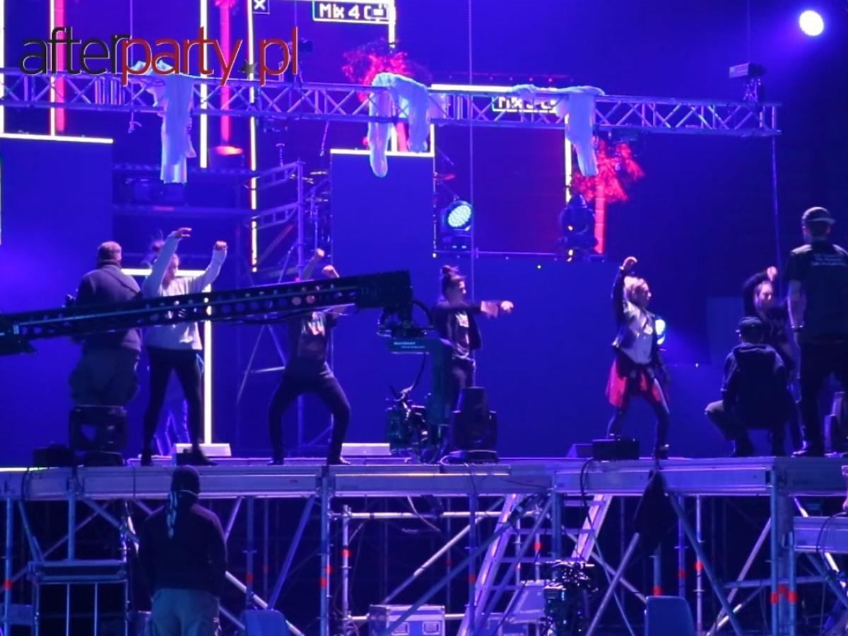 Doda na próbie do Fly High Tour DVD