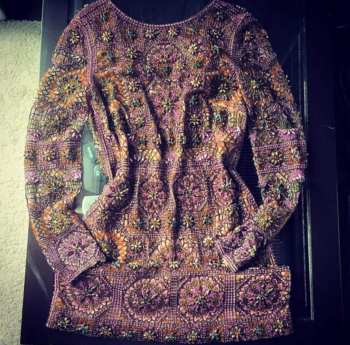 Doda pokazała sukienkę na Paris Fashion Week