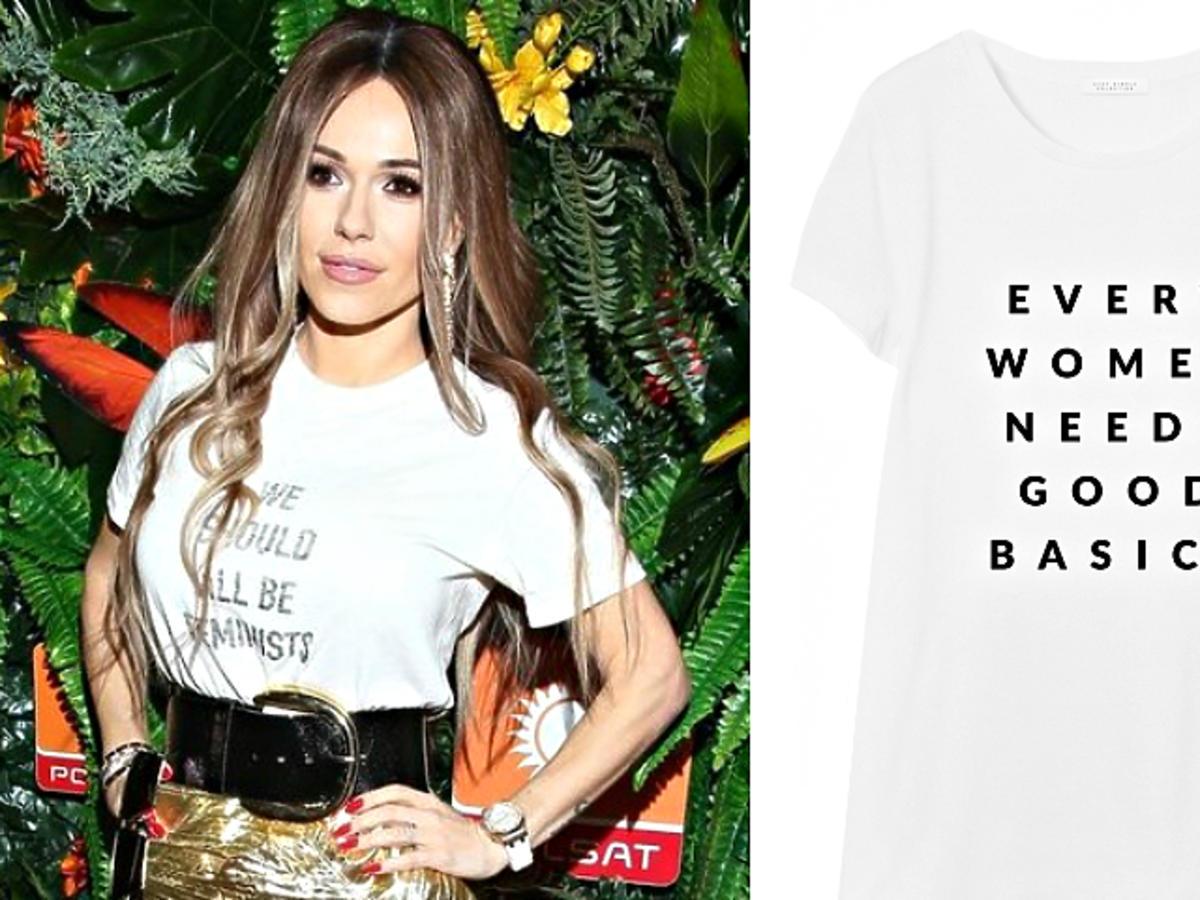 Doda pokochała t-shirt sezonu od Diora z przesłaniem! Znaleźliśmy koszulki w tym stylu już od 25 zł