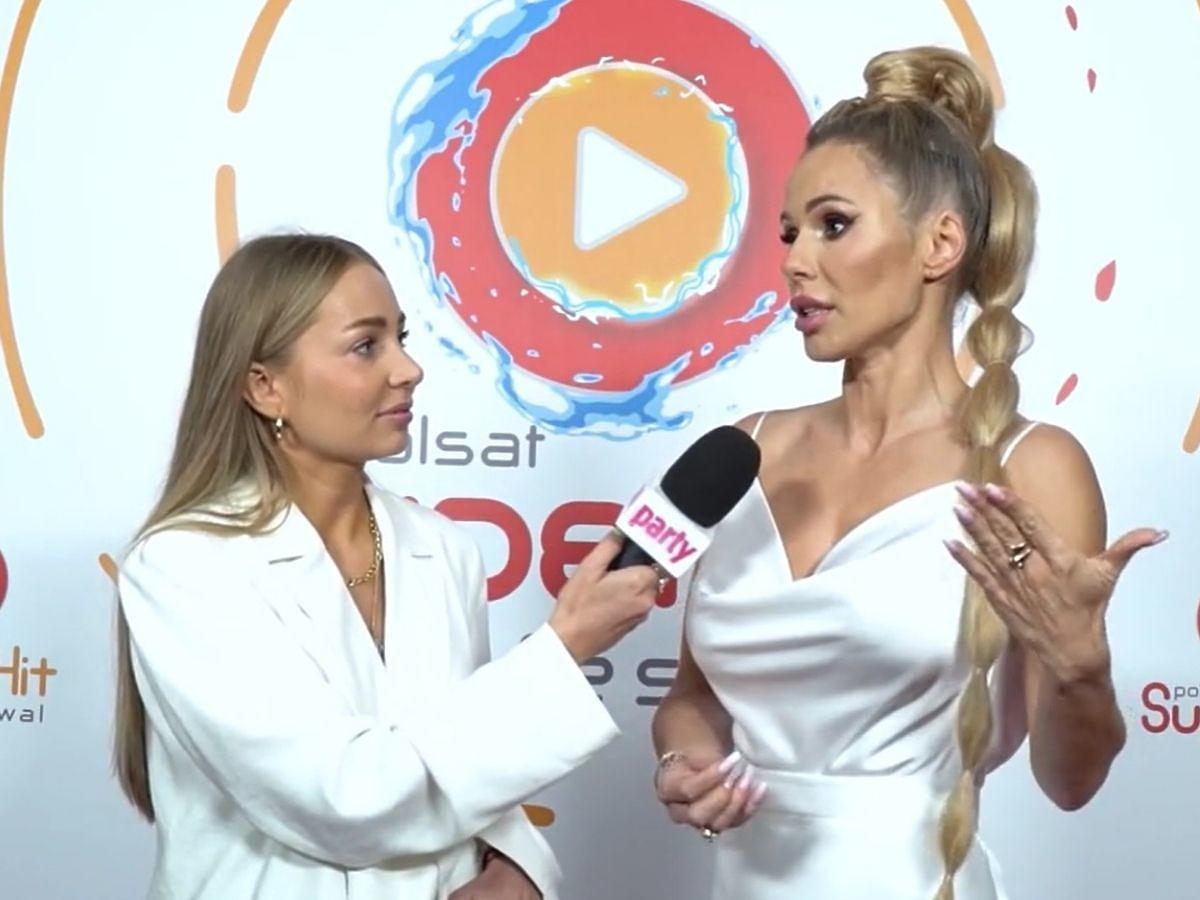 Doda rozmawia z reporterką Party.pl