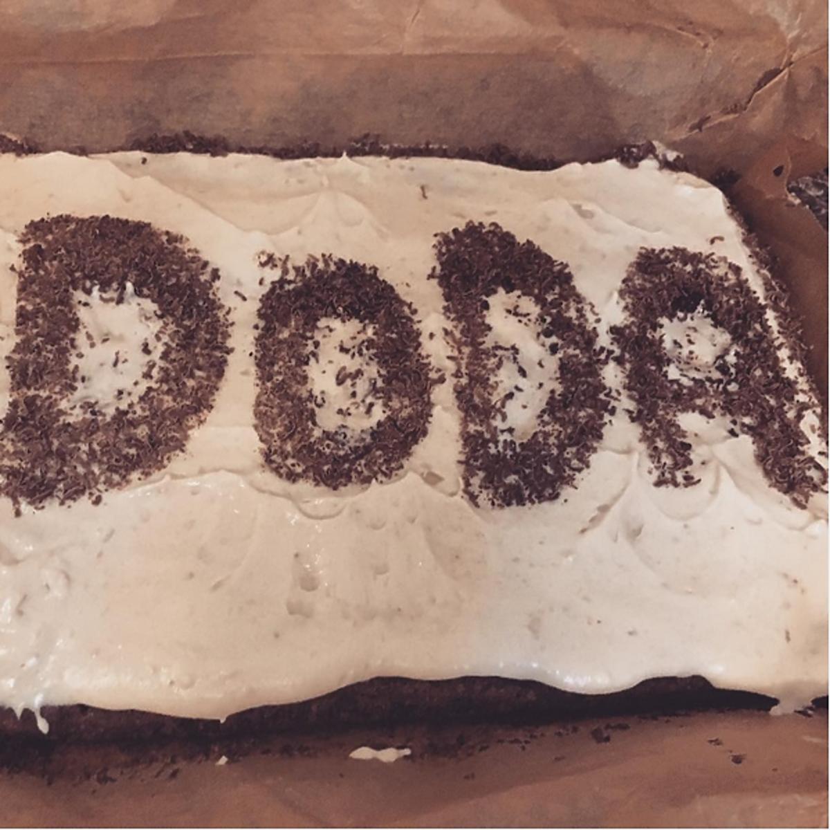 Doda upiekła bezglutenowe ciasto