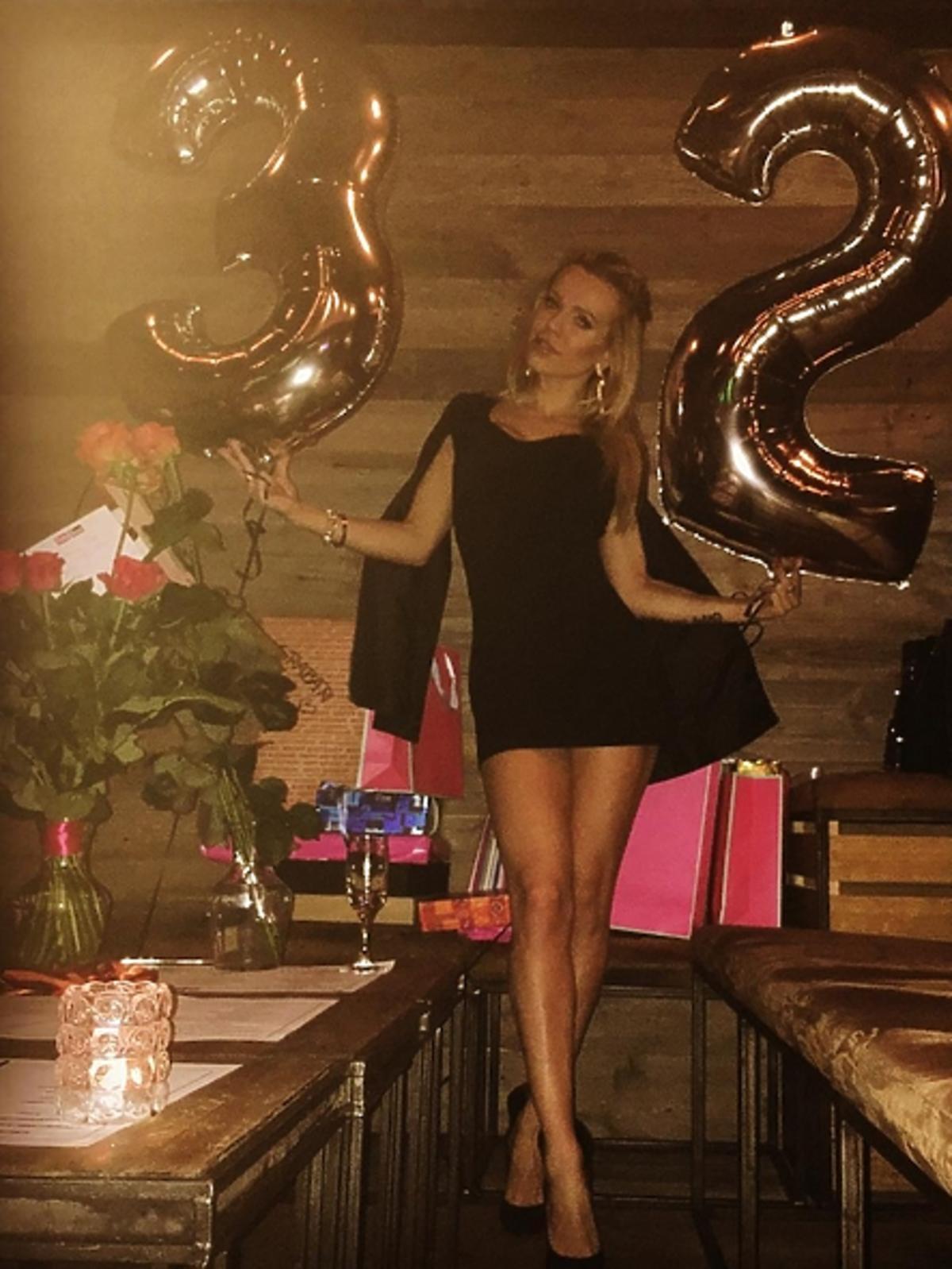 Doda w klubie na urodzinach