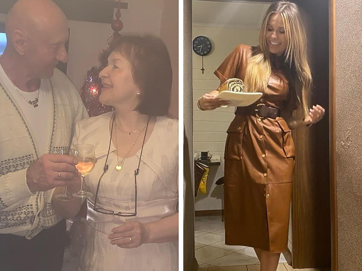 Doda z rodzicami