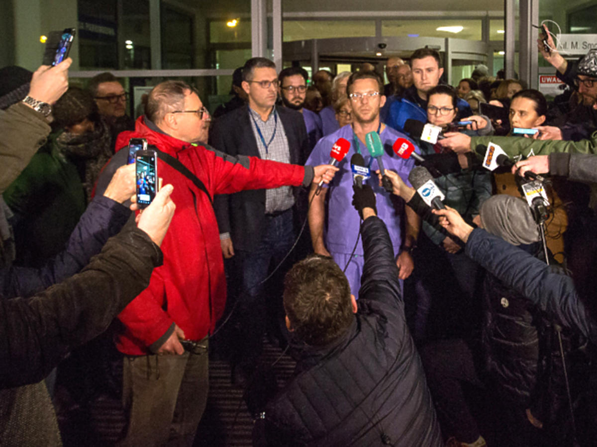 Doktor Tomasz Stefaniak poinformował o stanie prezydenta Adamowicza