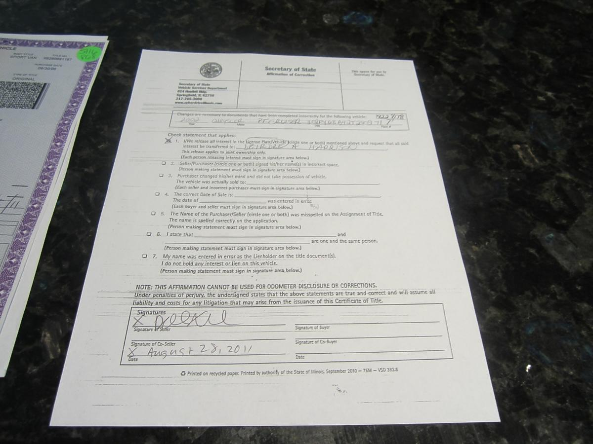 dokument na blacie
