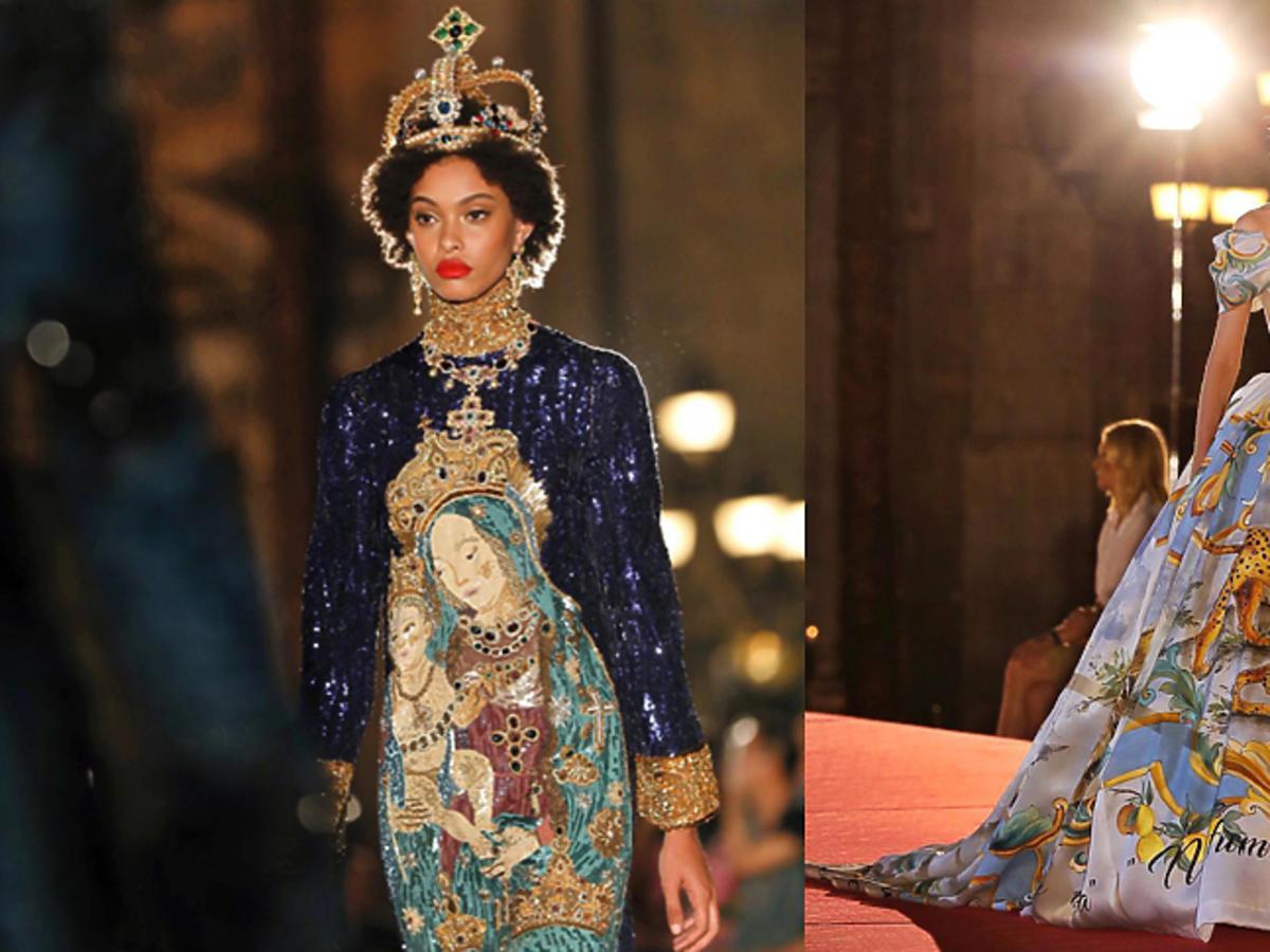 Dolce & Gabbana alta moda jesień-zima 17