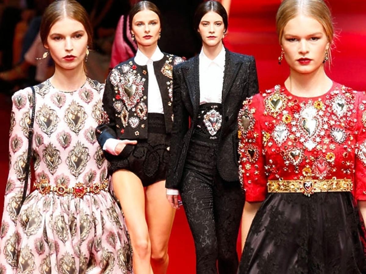 Dolce & Gabbana, kolekcja wiosna-lato 2015