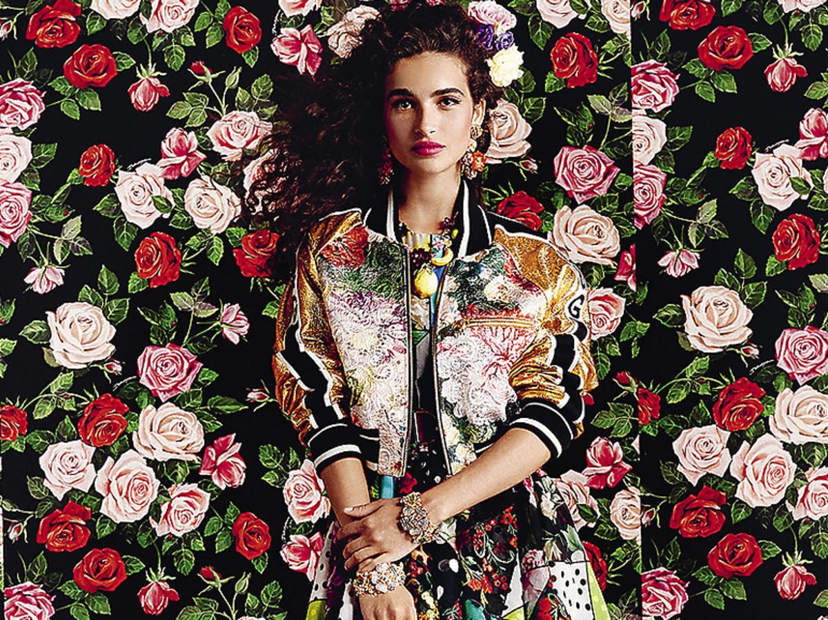 Dolce & Gabbana kolekcja wiosna lato 2019 flovers mix