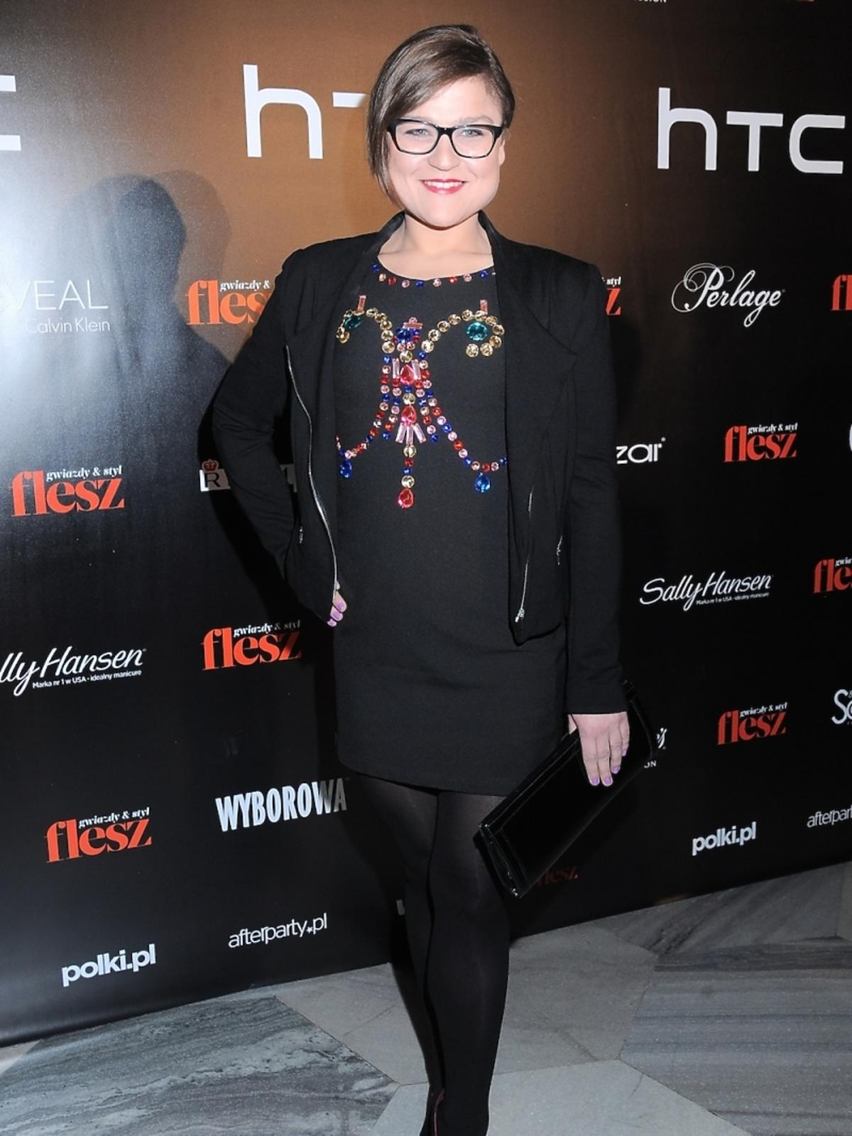 Dominika Gwit na Flesz Fashion Night Symphony 2014