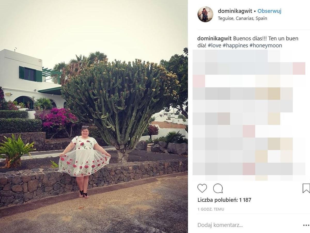 Dominika Gwit pokazała zdjęcia z podróży poślubnej
