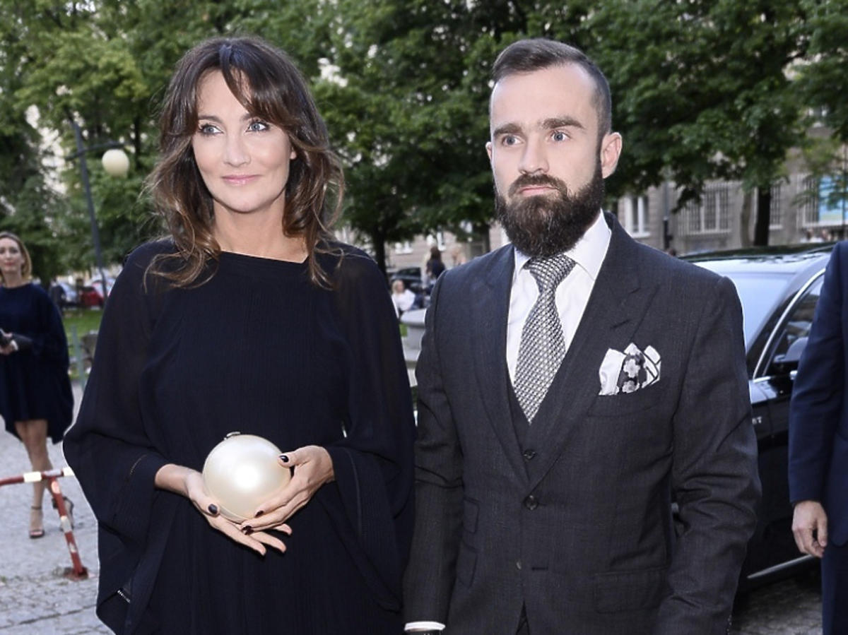 Dominika Kulczyk i Sebastian Kulczyk na imprezie
