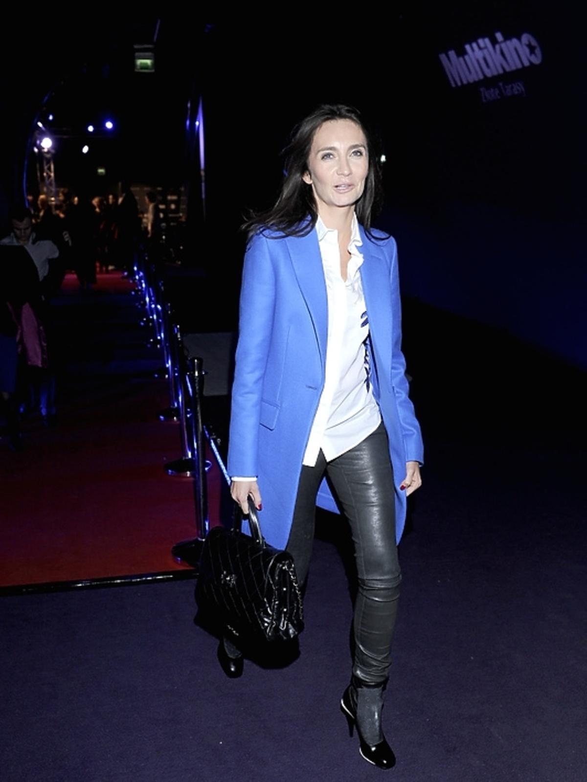 Dominika Kulczyk-Lubomirska na premierze filmu