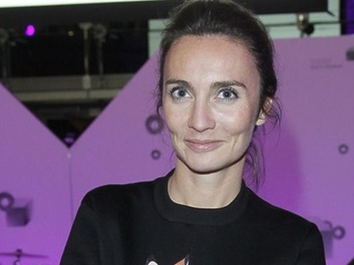 Dominika Kulczyk-Lubomirska w bluzie Givenchy za 4200 złotych