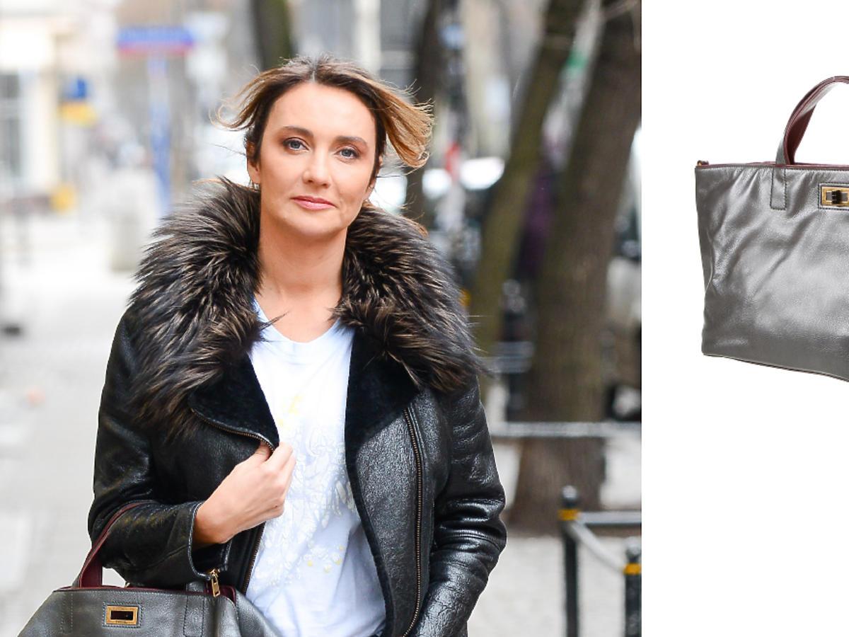 Dominika Kulczyk z torbą Chanel i w butach Chanel