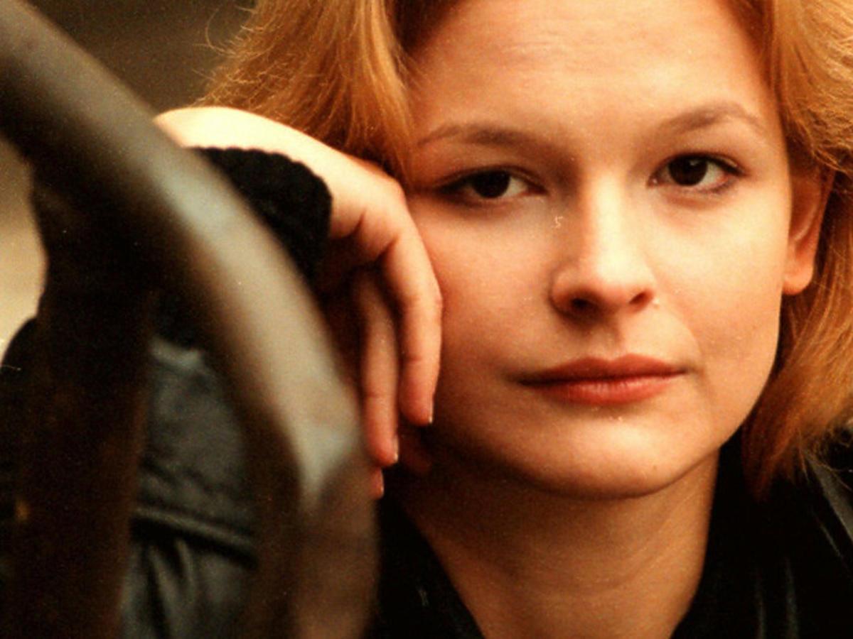Dominika Ostałowska w młodości