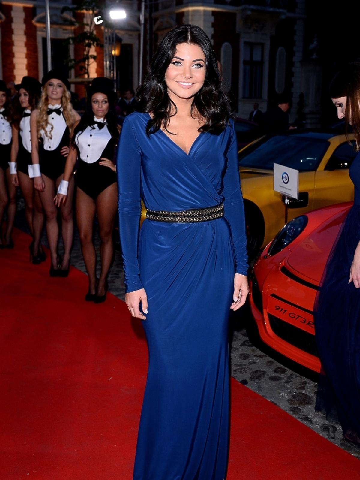 Dominika Zasiewska na imprezie Samochód Roku Playboya