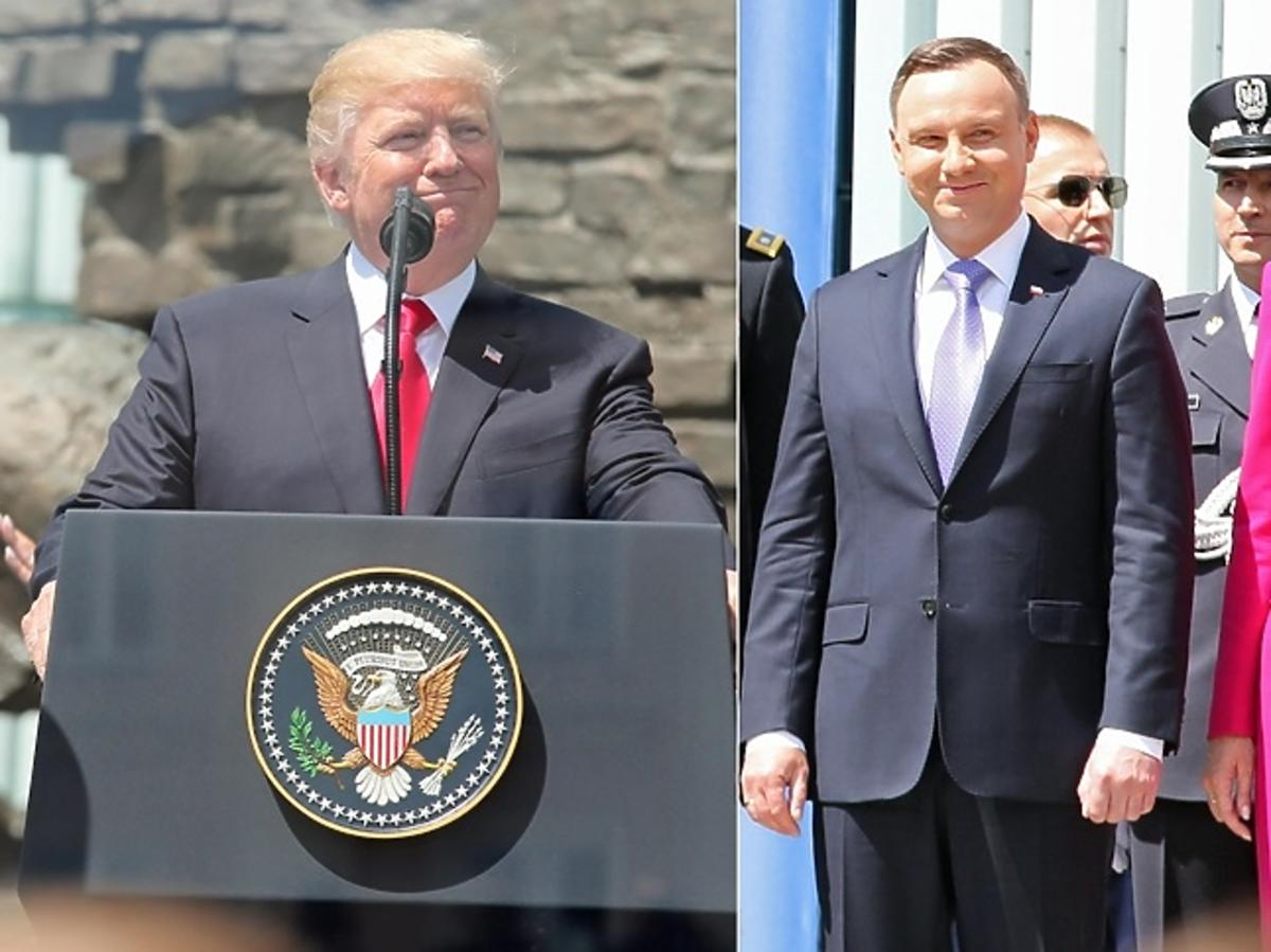 Donald Trump, Andrzej Duda, Agata Duda