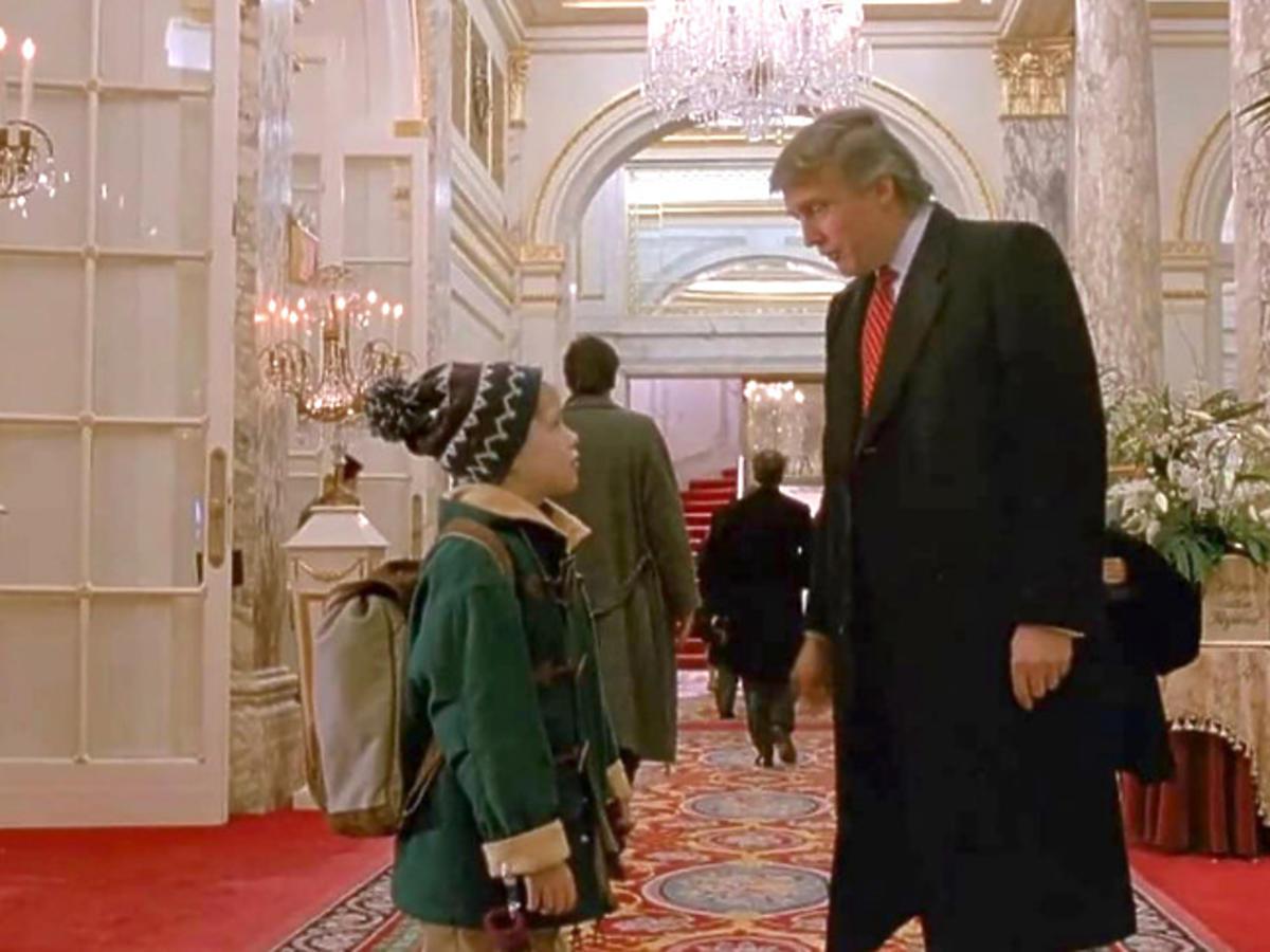 """Donald Trump w filmie """"Kevin sam w Nowym Jorku"""""""