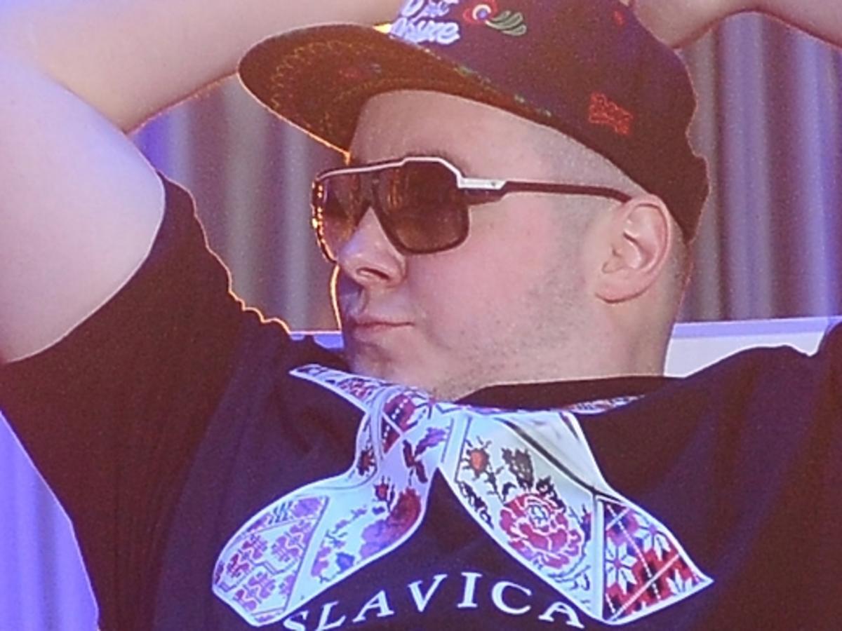 Donatan podczas Festiwalu w Opolu 2014