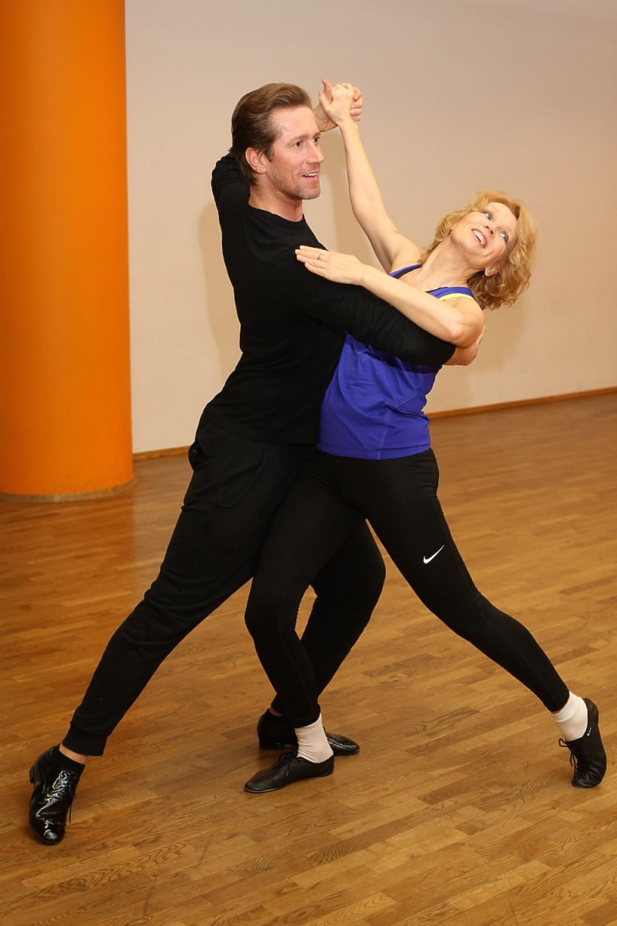 Dorota Chotecka i Robert Kochanek na treningach do Tańca z Gwiazdami
