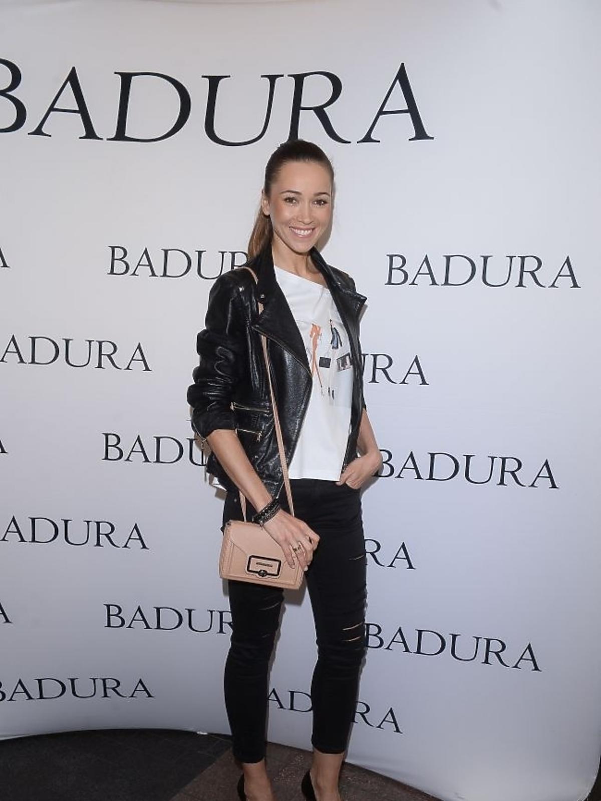 Dorota Czaja na prezentacji marki Badura