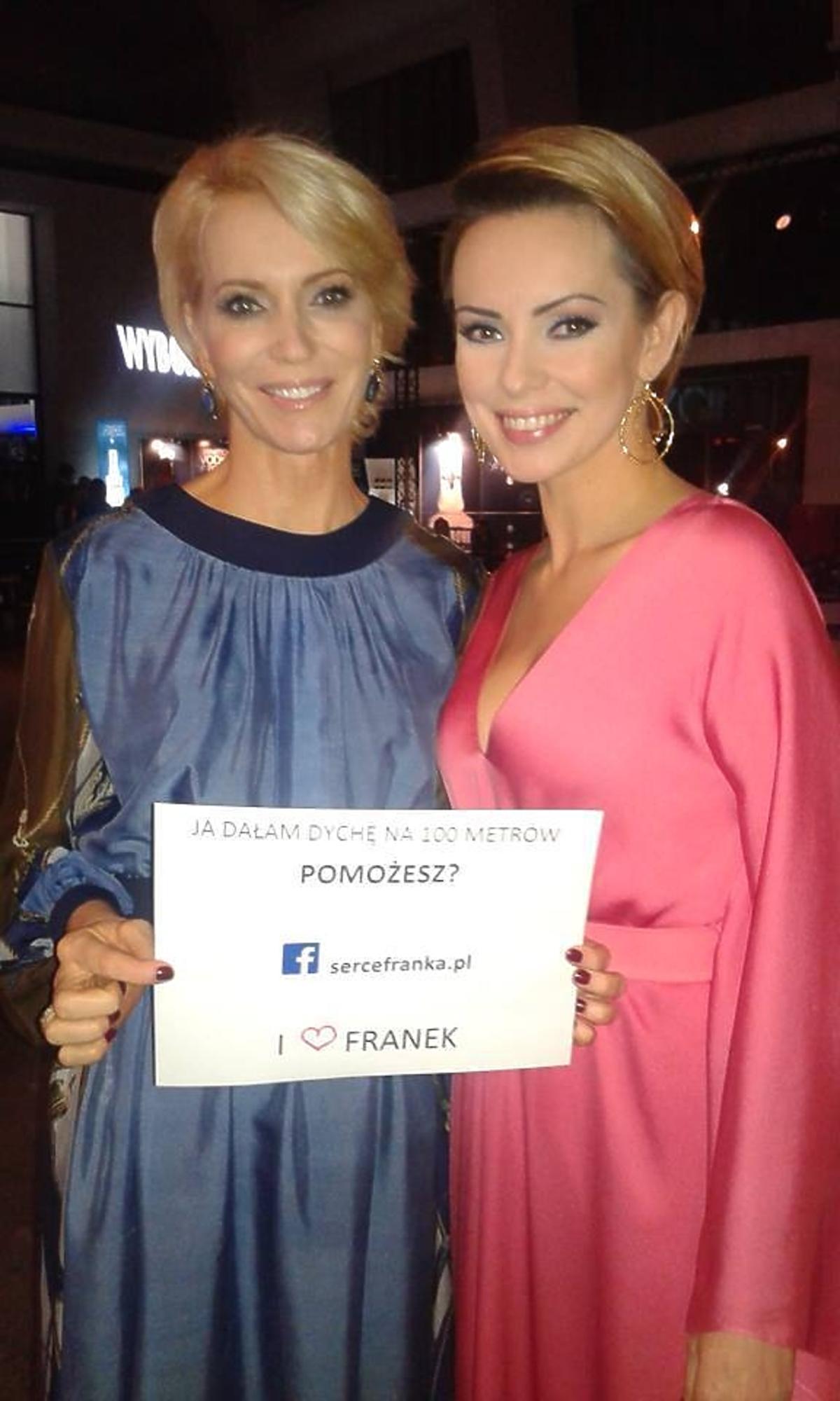 Dorota Gardias i Paulina Smaszcz Kurzjewska wspierają akcję dla Franka