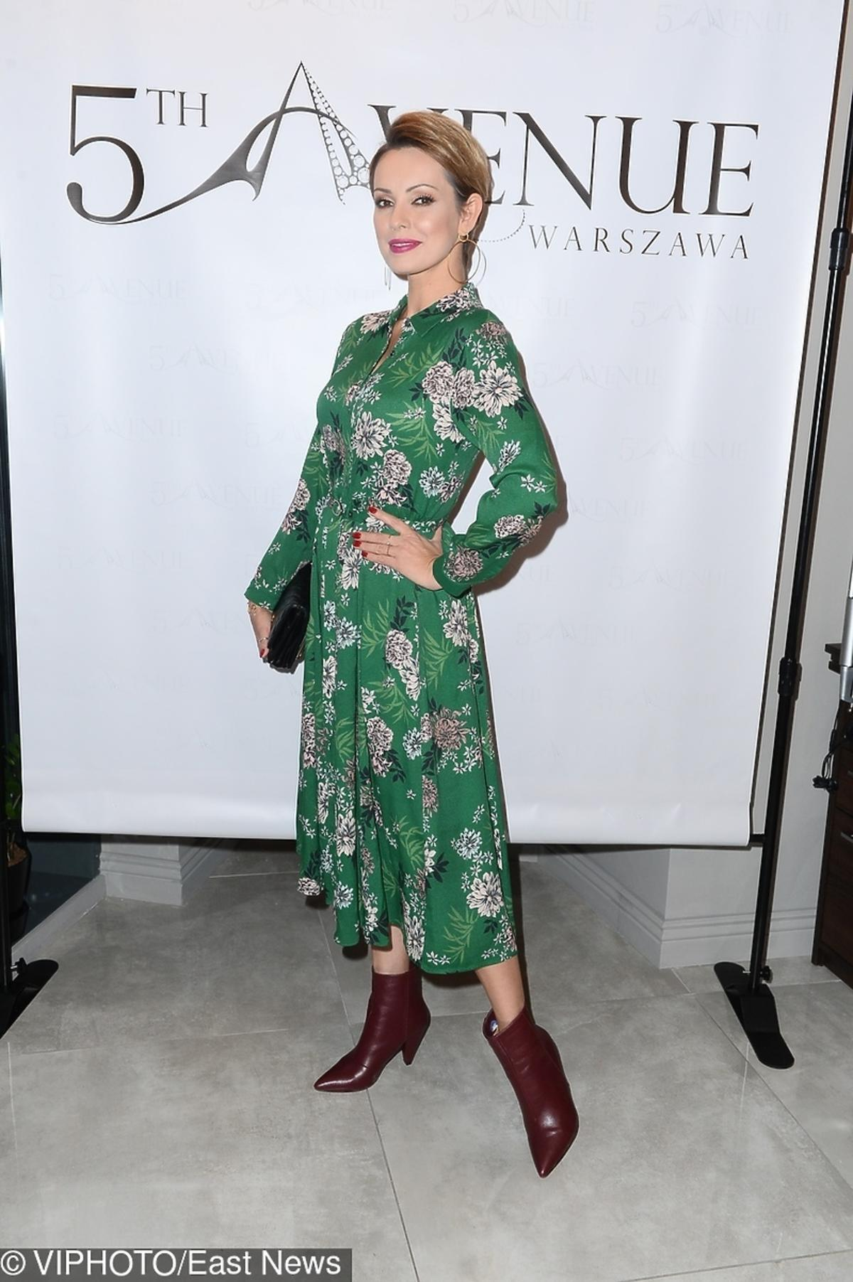 Dorota Gardias na imprezie 5th Avenue