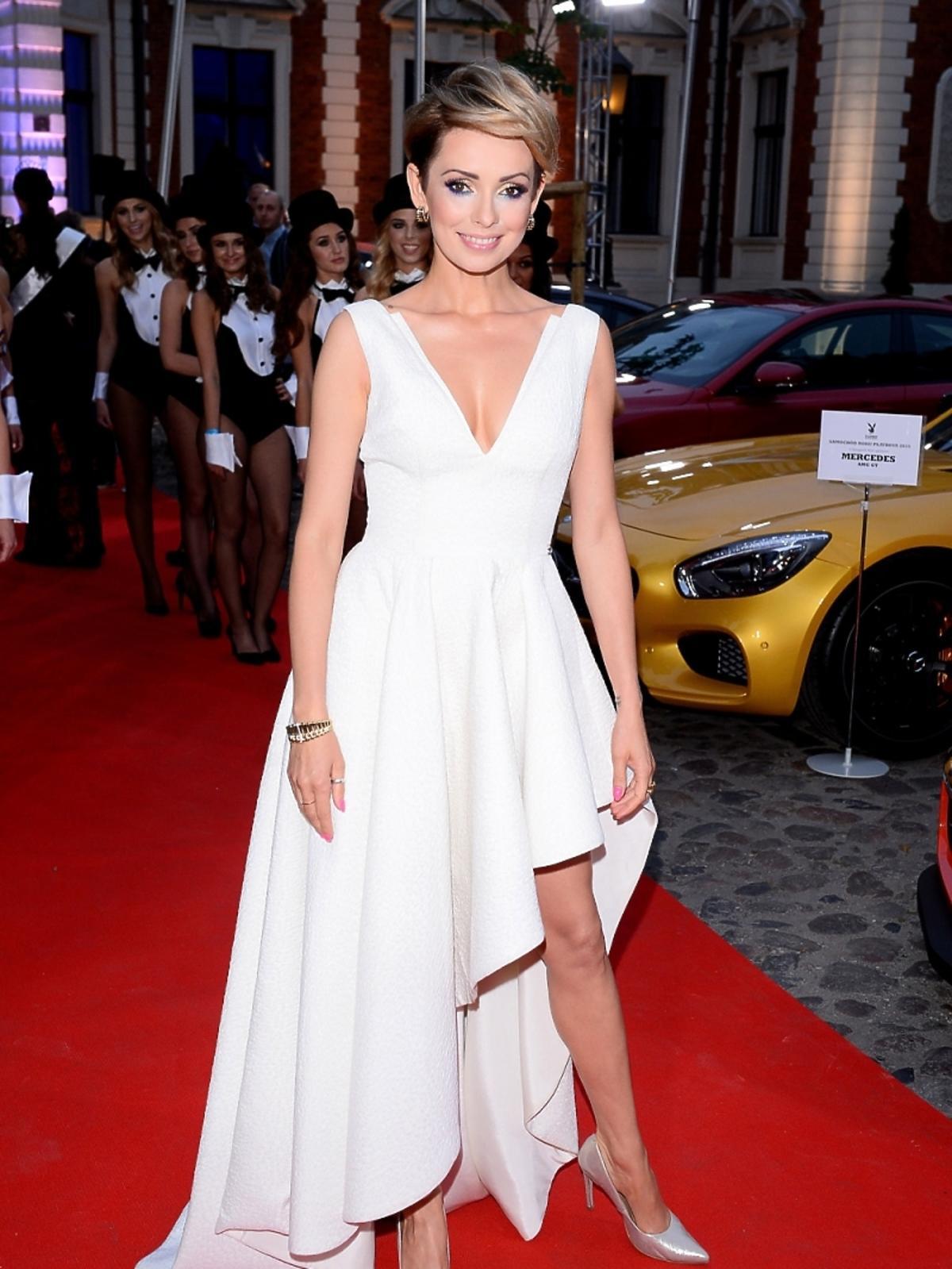 Dorota Gardias na imprezie Samochód Roku Playboya