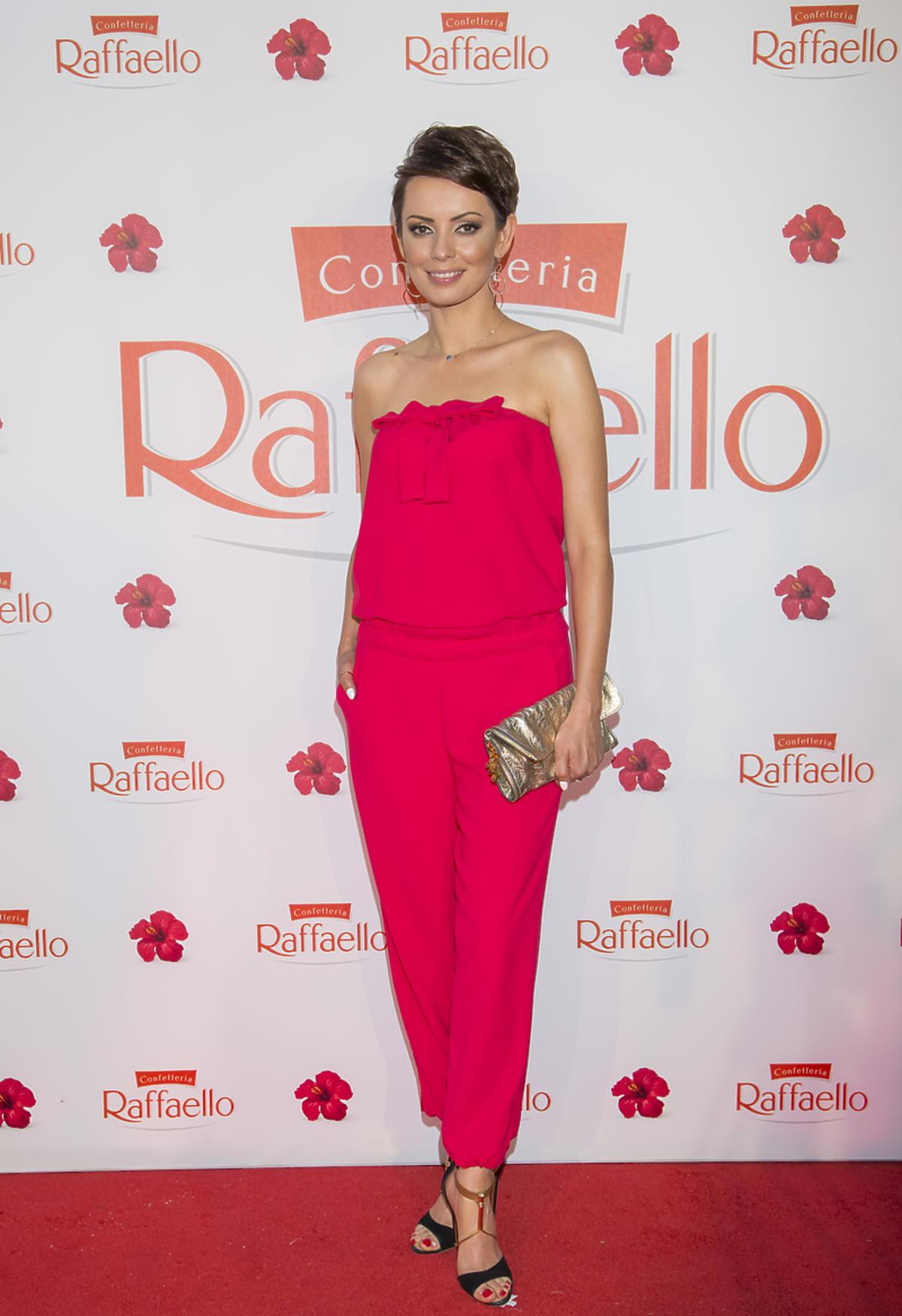 Dorota Gardias na imprezie z okazji Inauguracji Lata z Raffaello
