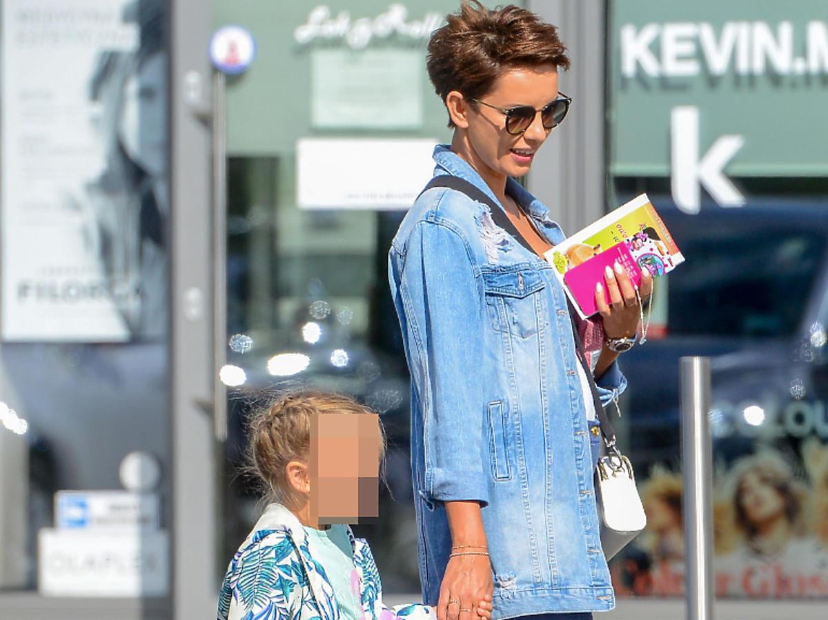 Dorota Gardias na zakupy z córką wybrała się do Pepco