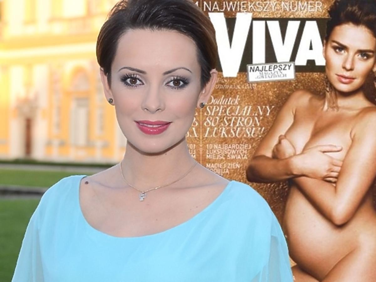 Dorota Gardias o nagiej sesji w ciąży
