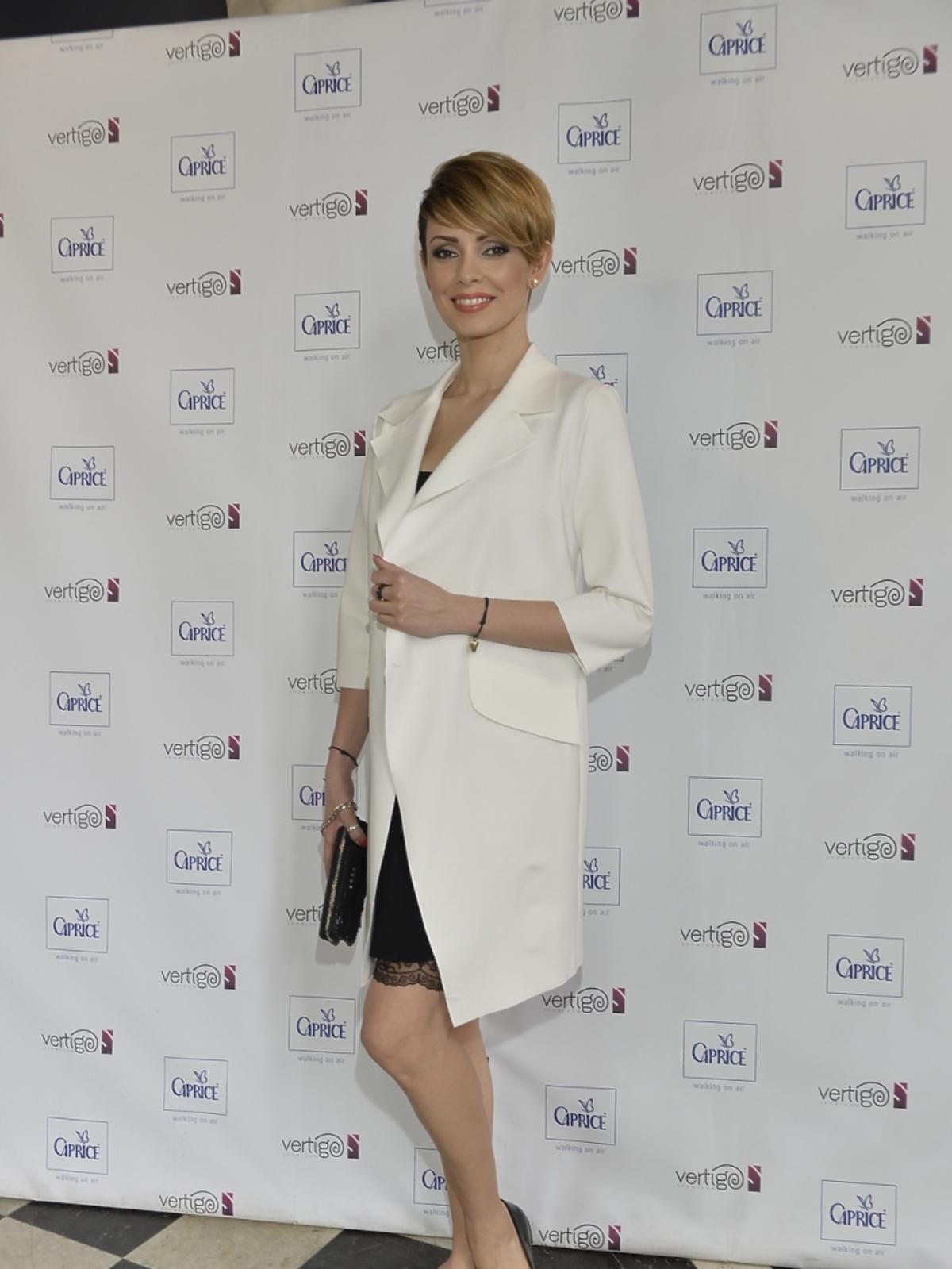 Dorota Gardias podczas dnia otwartego marki Caprice